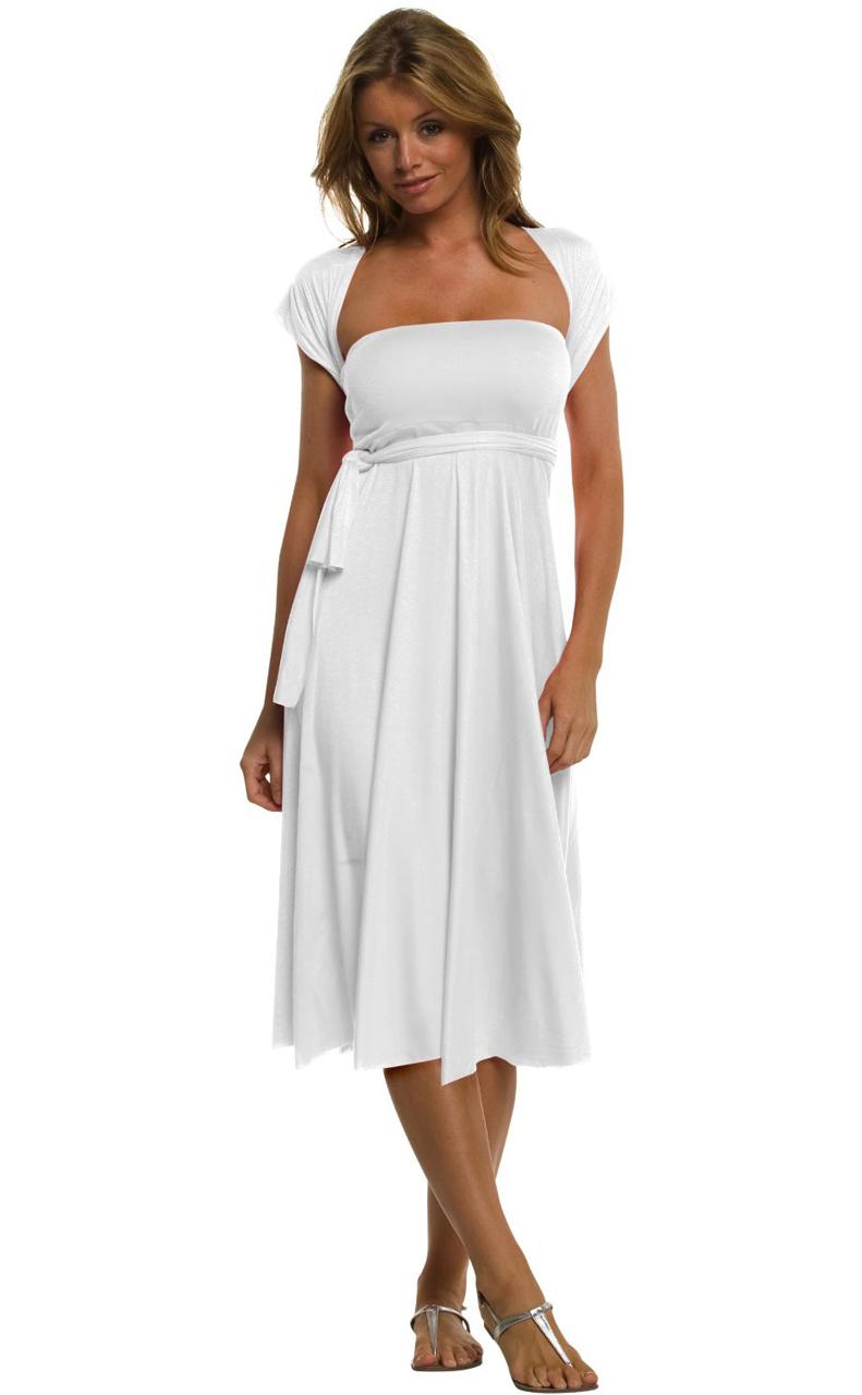 Vivian-039-s-Fashions-Dress-Skirt-Twist-Wrap-10-Ways-to-Wear thumbnail 74