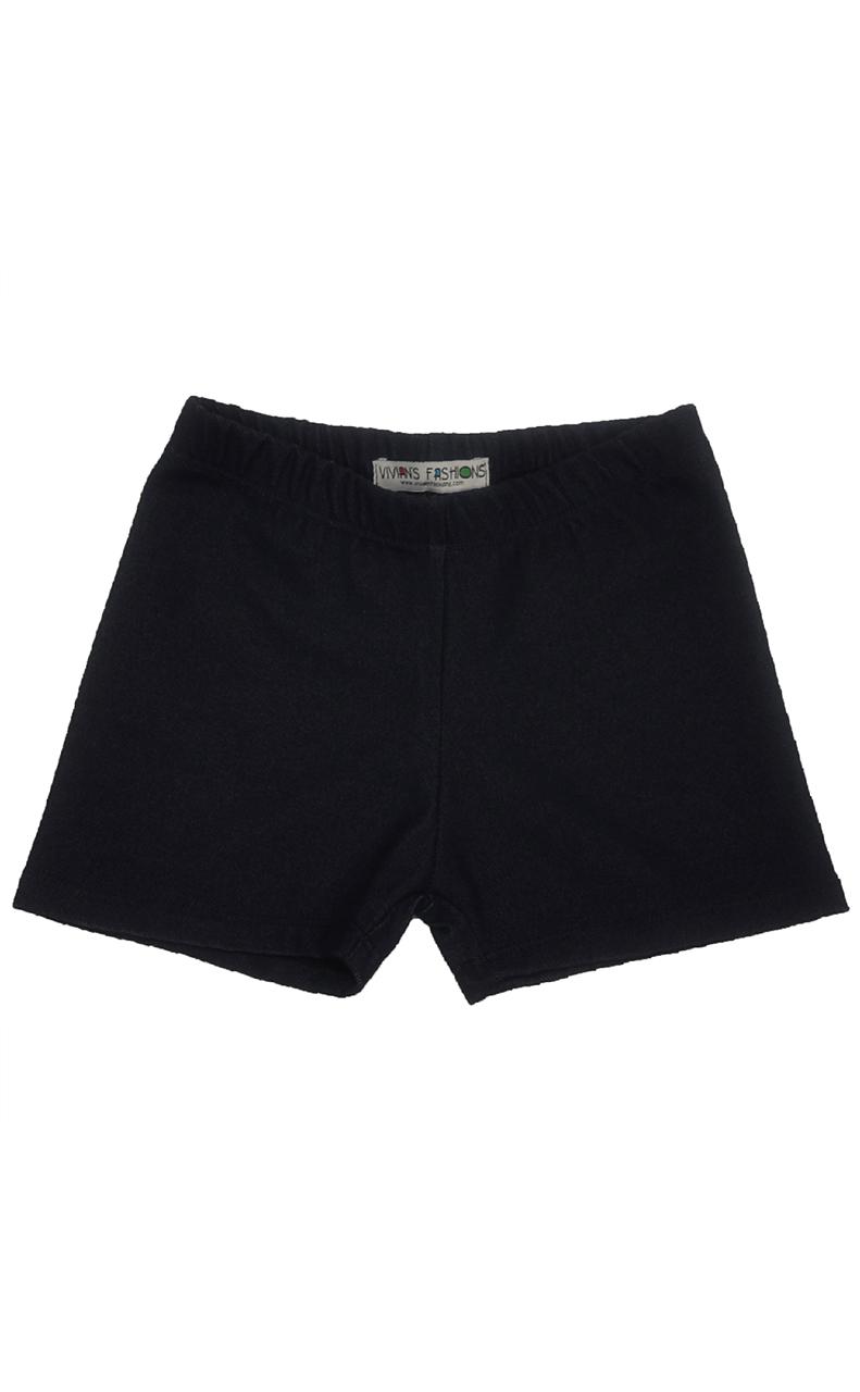 b3fd53f2a76 Image is loading Vivian-039-s-Fashions-Legging-Shorts-Girls-Cotton