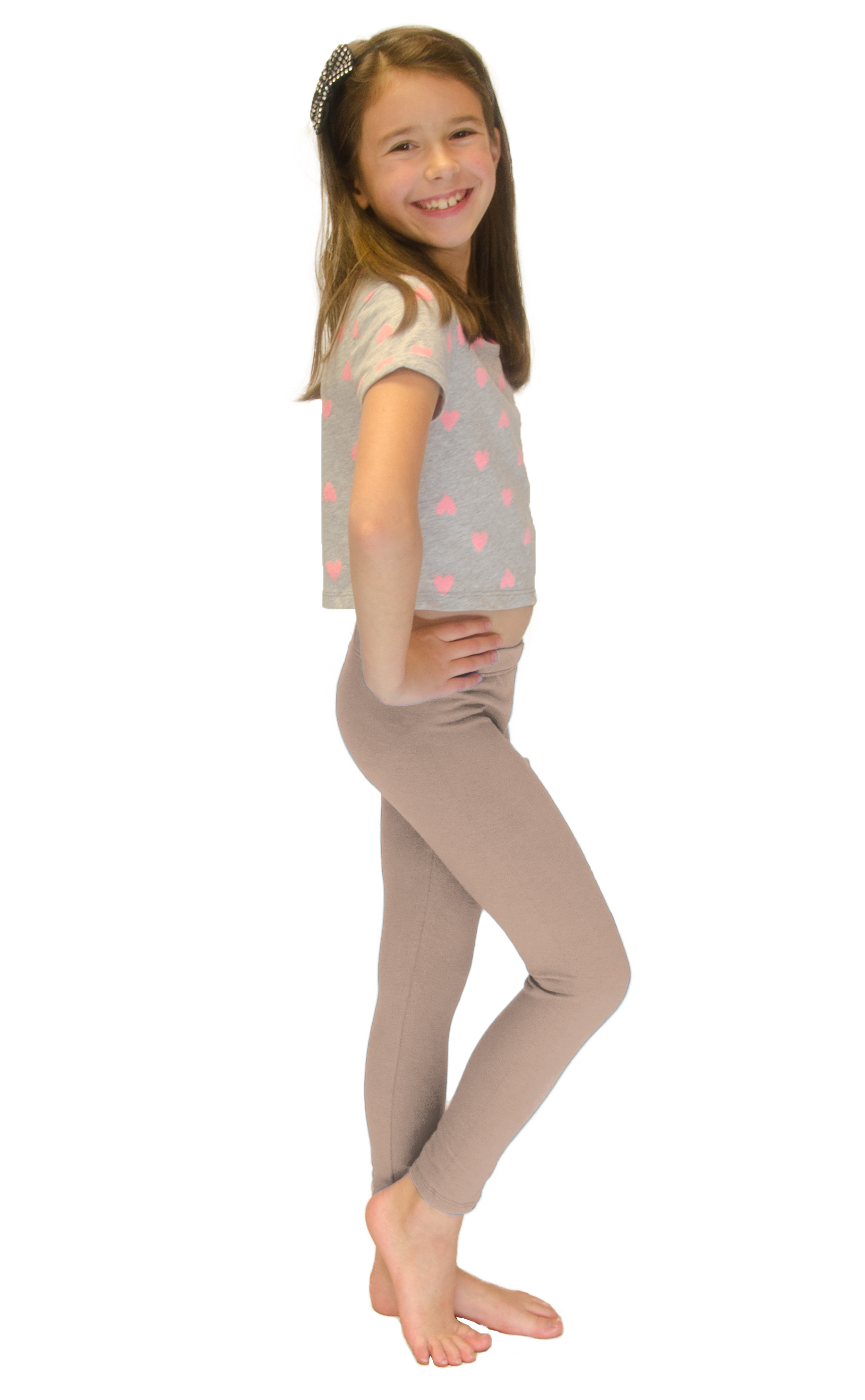 Vivian-039-s-Fashions-Long-Leggings-Girls-Cotton thumbnail 12
