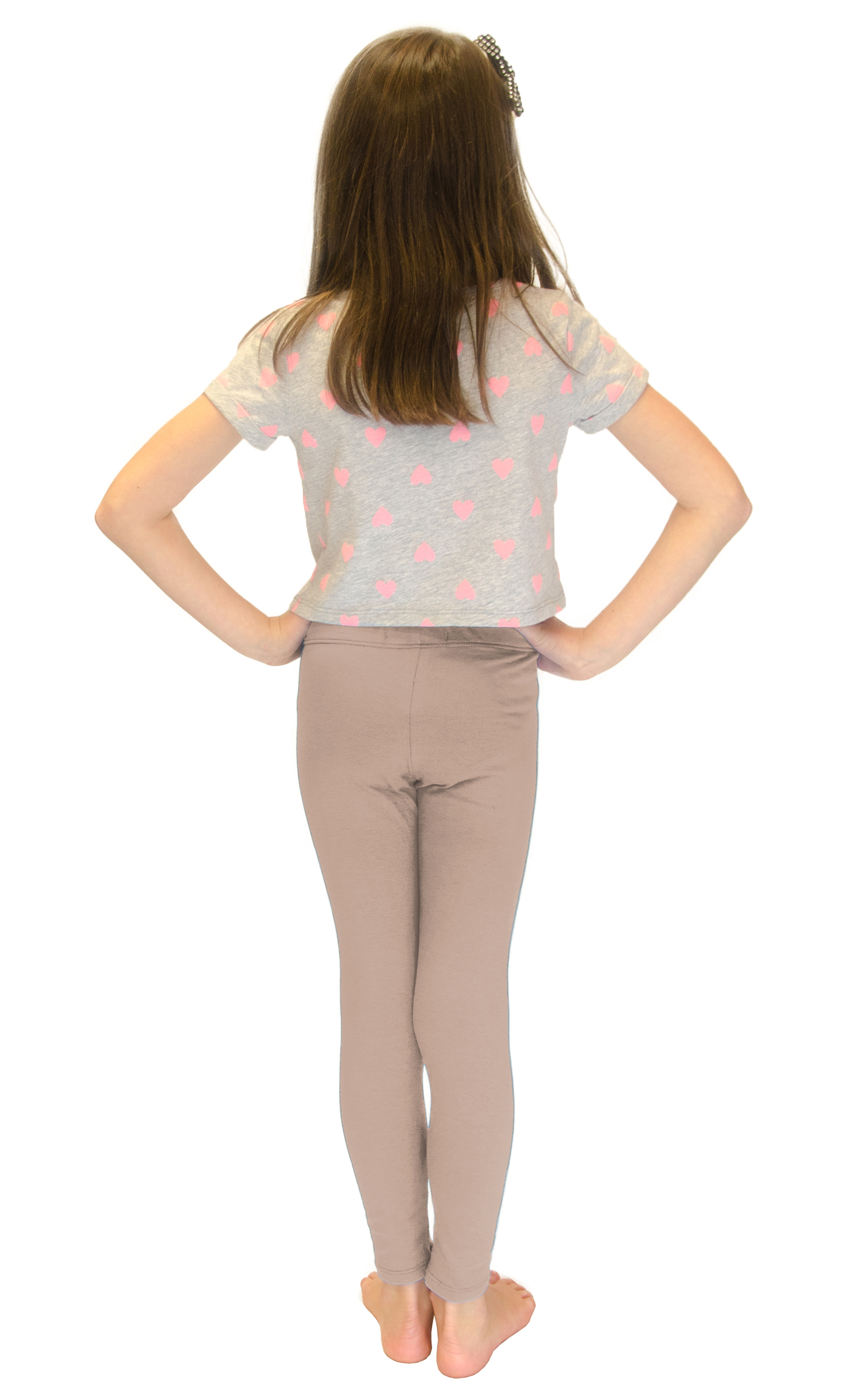 Vivian-039-s-Fashions-Long-Leggings-Girls-Cotton thumbnail 13