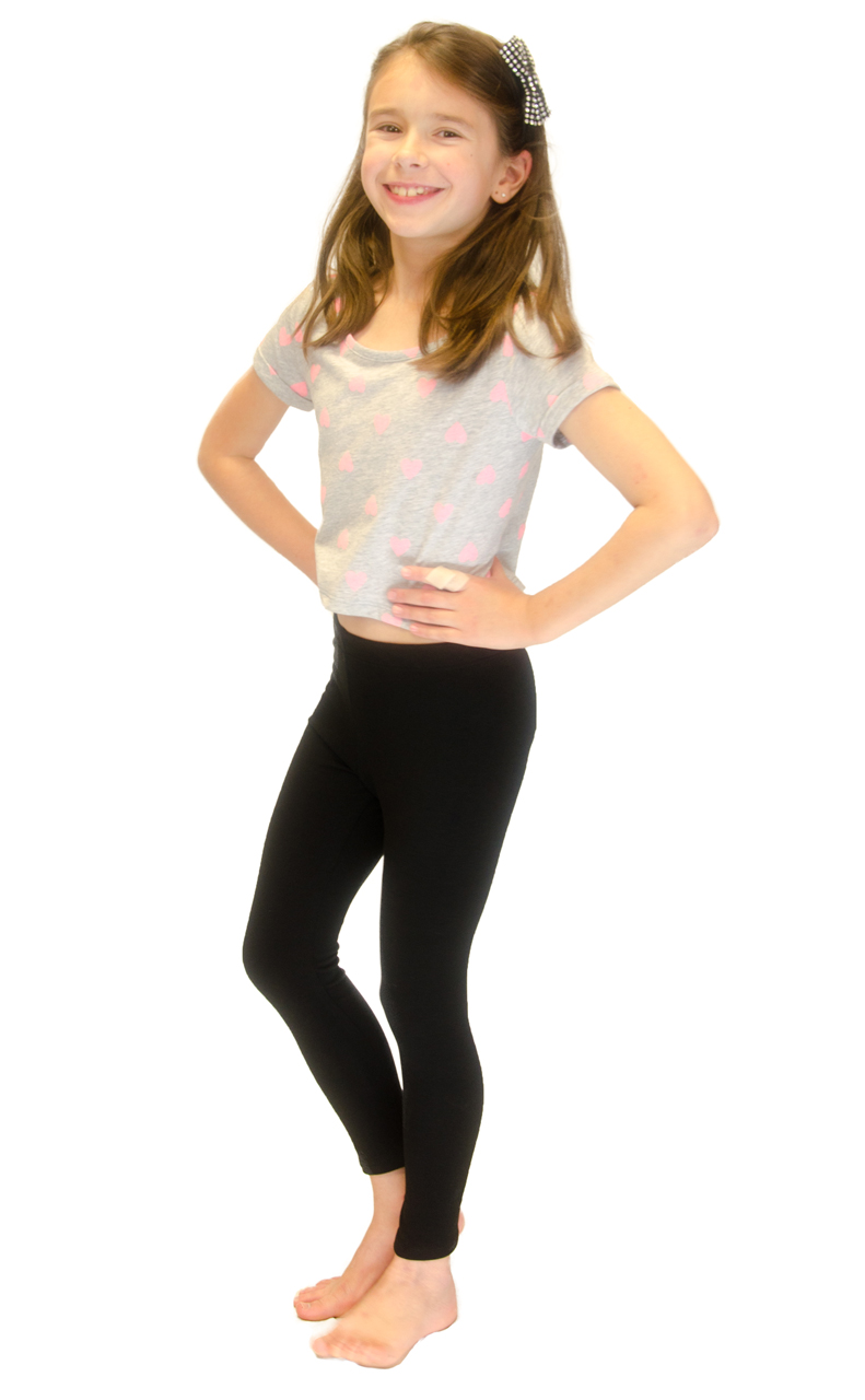 Vivian-039-s-Fashions-Long-Leggings-Girls-Cotton thumbnail 15