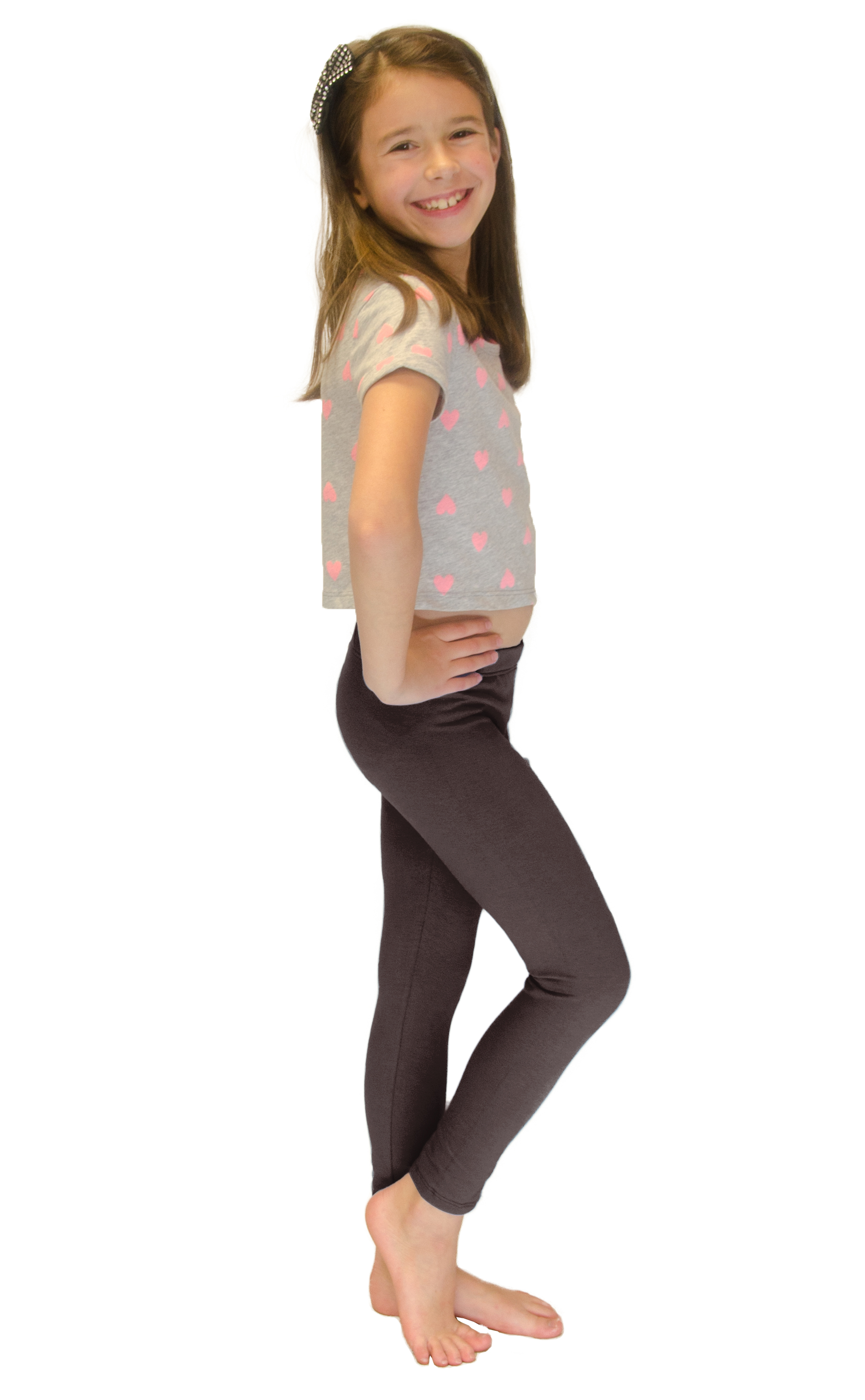 Vivian-039-s-Fashions-Long-Leggings-Girls-Cotton thumbnail 19