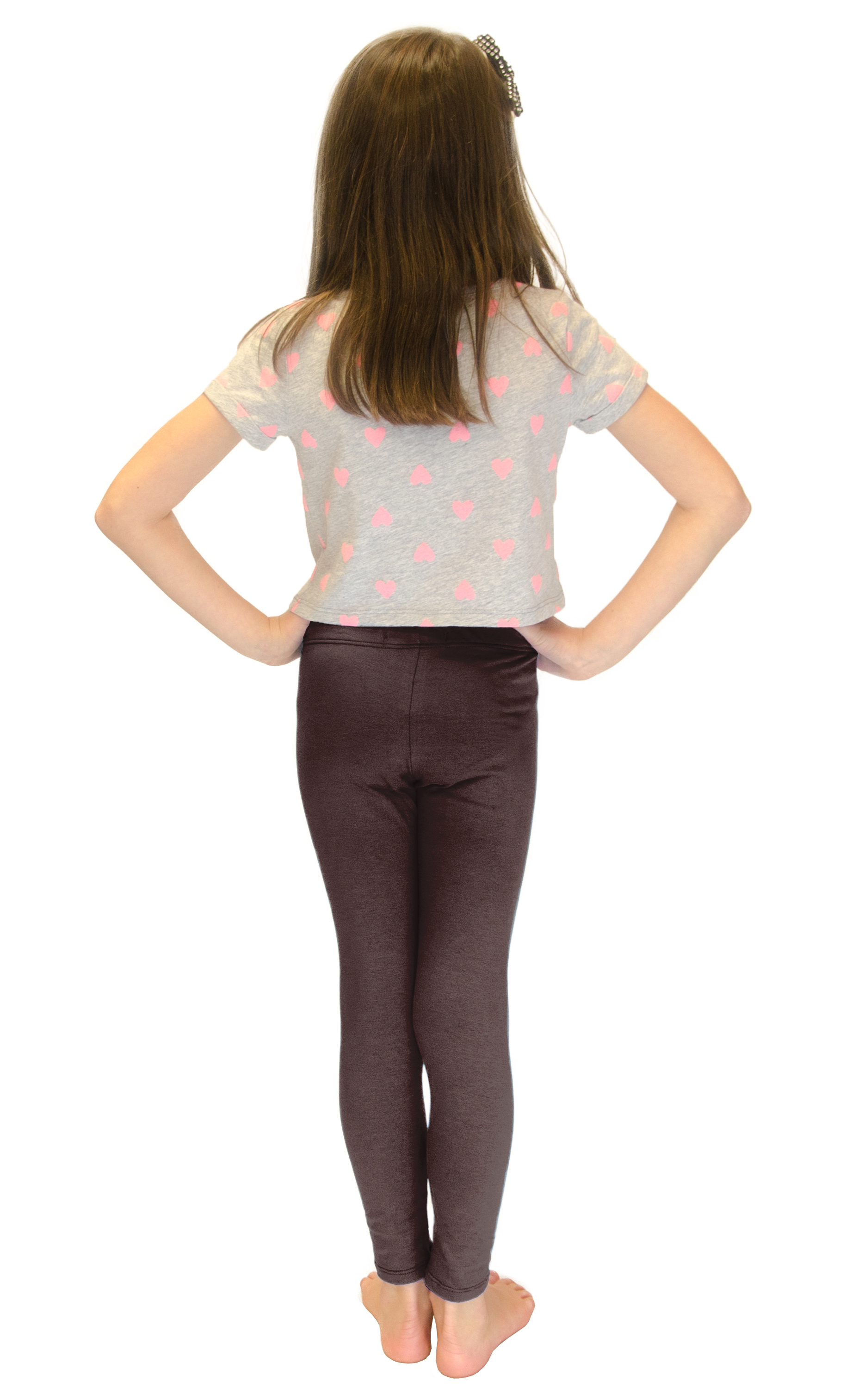 Vivian-039-s-Fashions-Long-Leggings-Girls-Cotton thumbnail 20