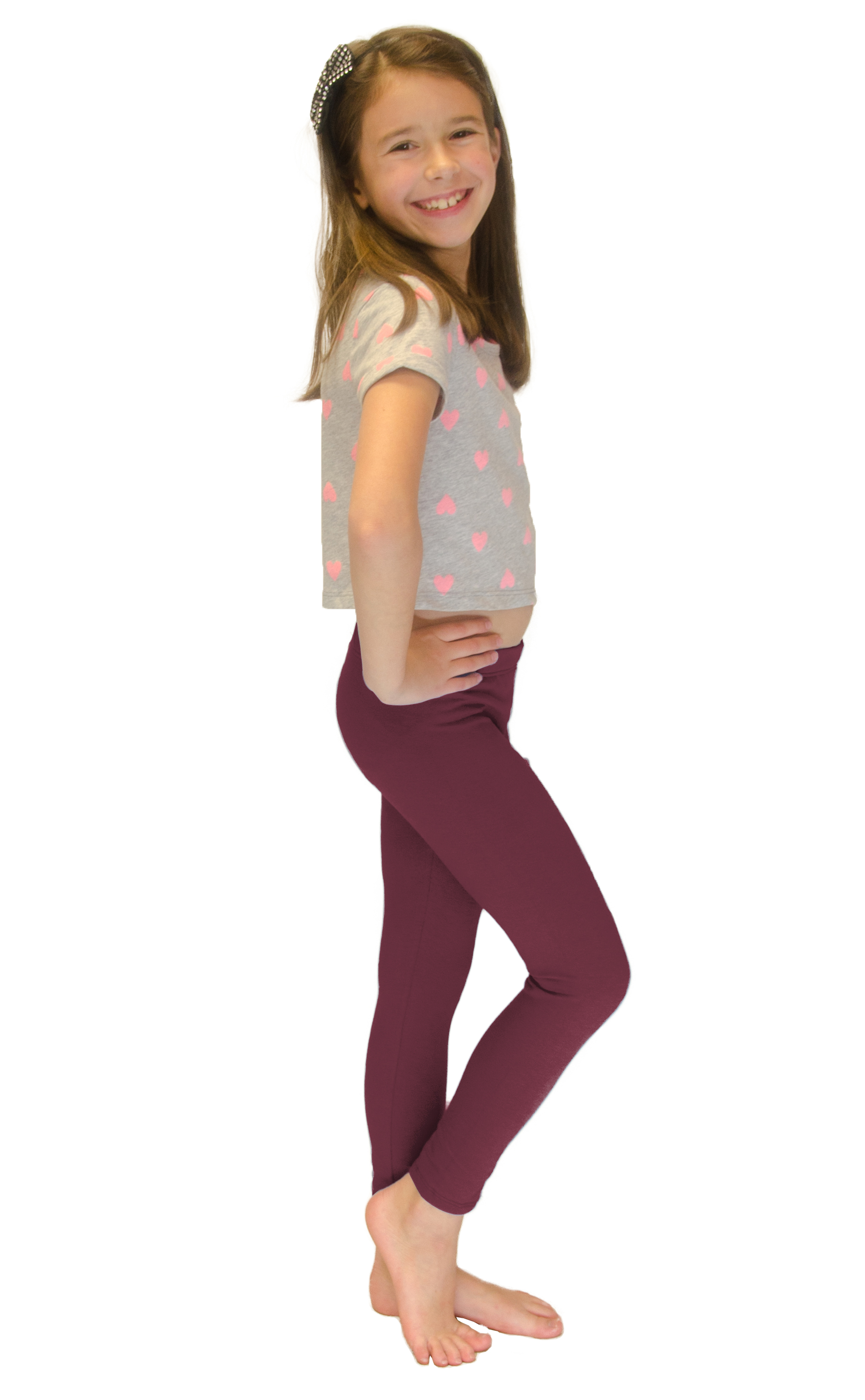 Vivian-039-s-Fashions-Long-Leggings-Girls-Cotton thumbnail 23