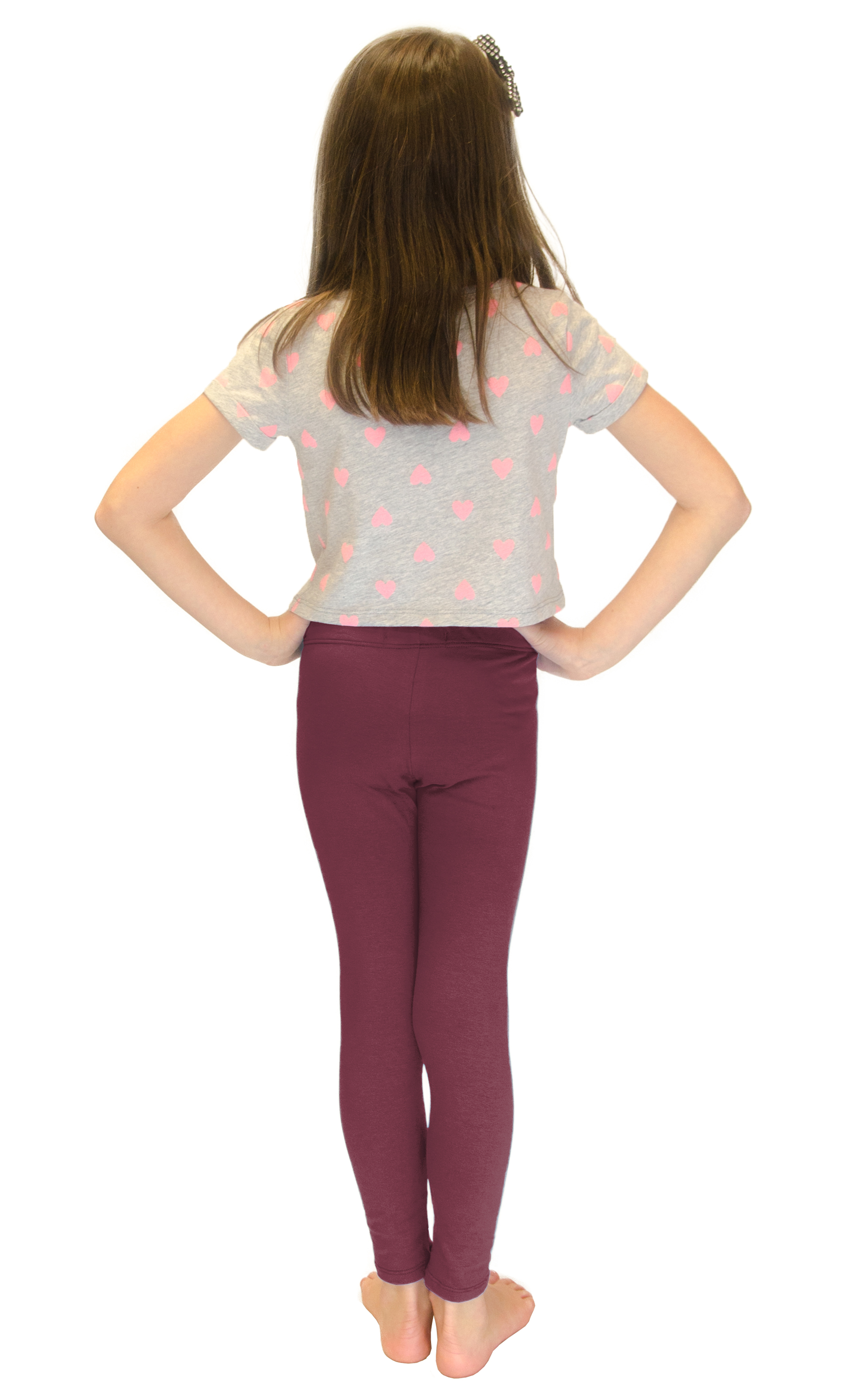 Vivian-039-s-Fashions-Long-Leggings-Girls-Cotton thumbnail 24