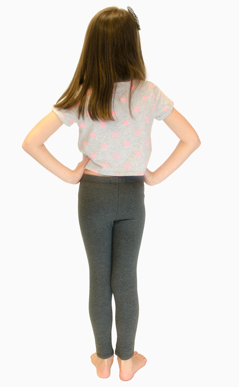 Vivian-039-s-Fashions-Long-Leggings-Girls-Cotton thumbnail 27