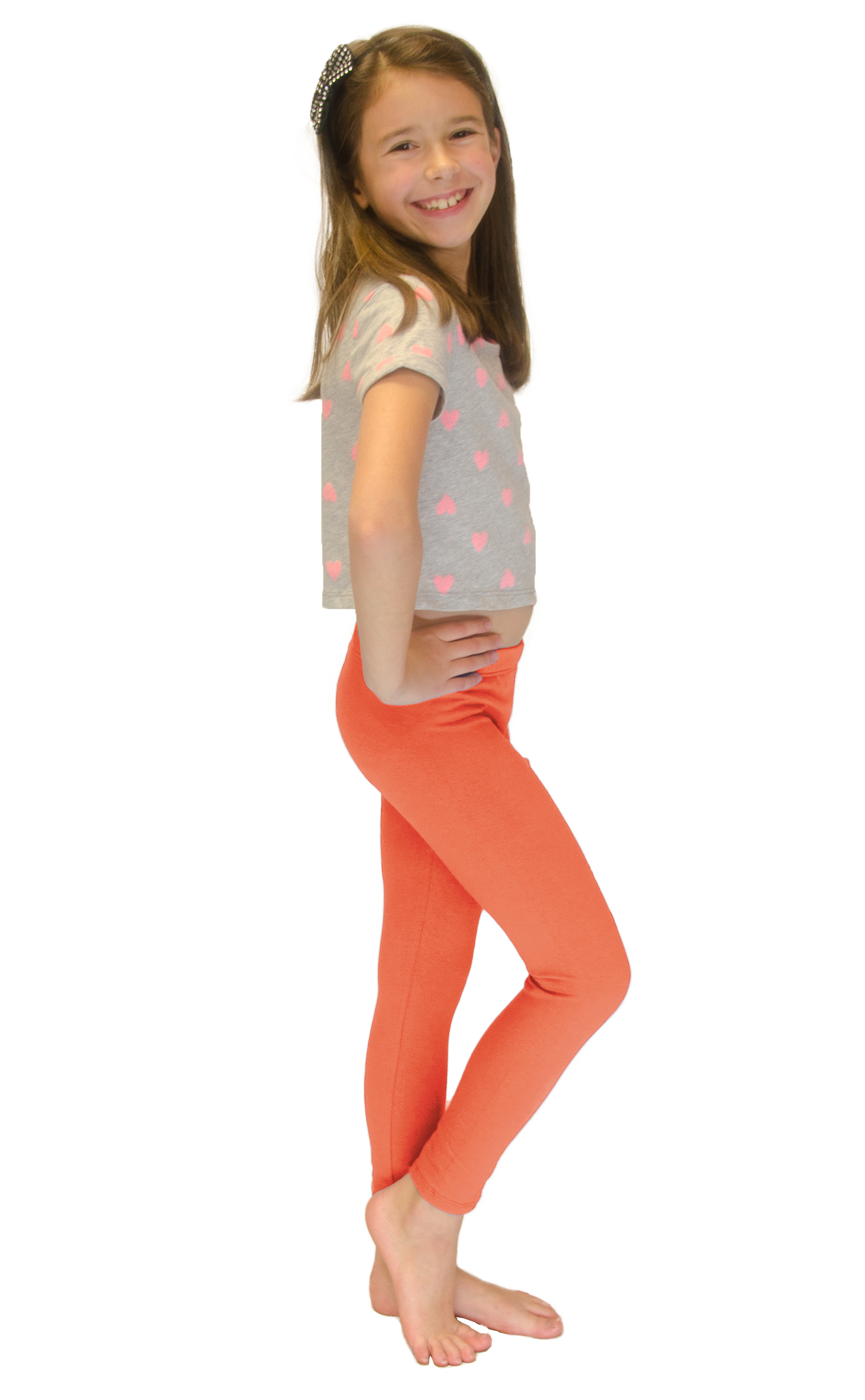 Vivian-039-s-Fashions-Long-Leggings-Girls-Cotton thumbnail 30