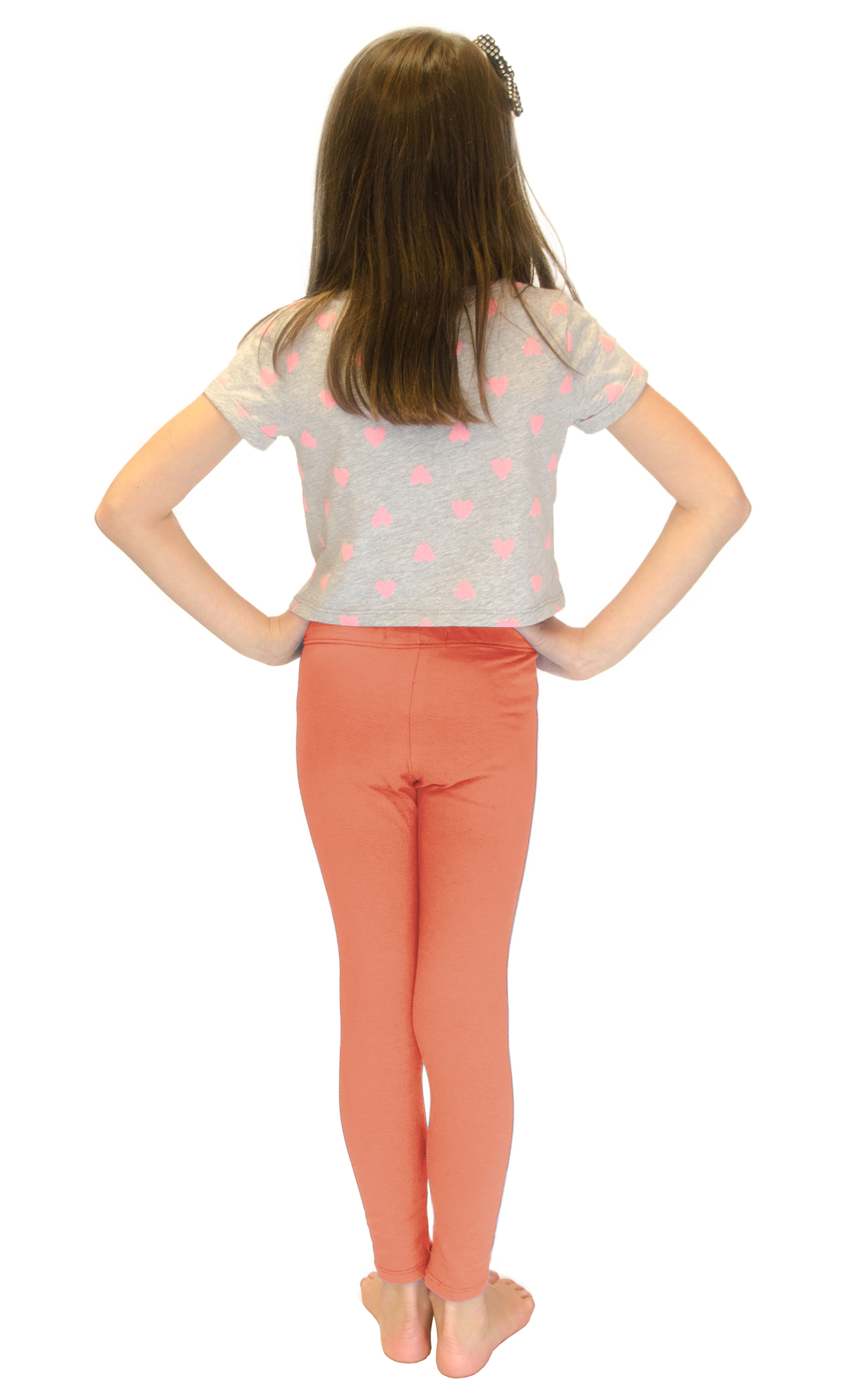 Vivian-039-s-Fashions-Long-Leggings-Girls-Cotton thumbnail 31