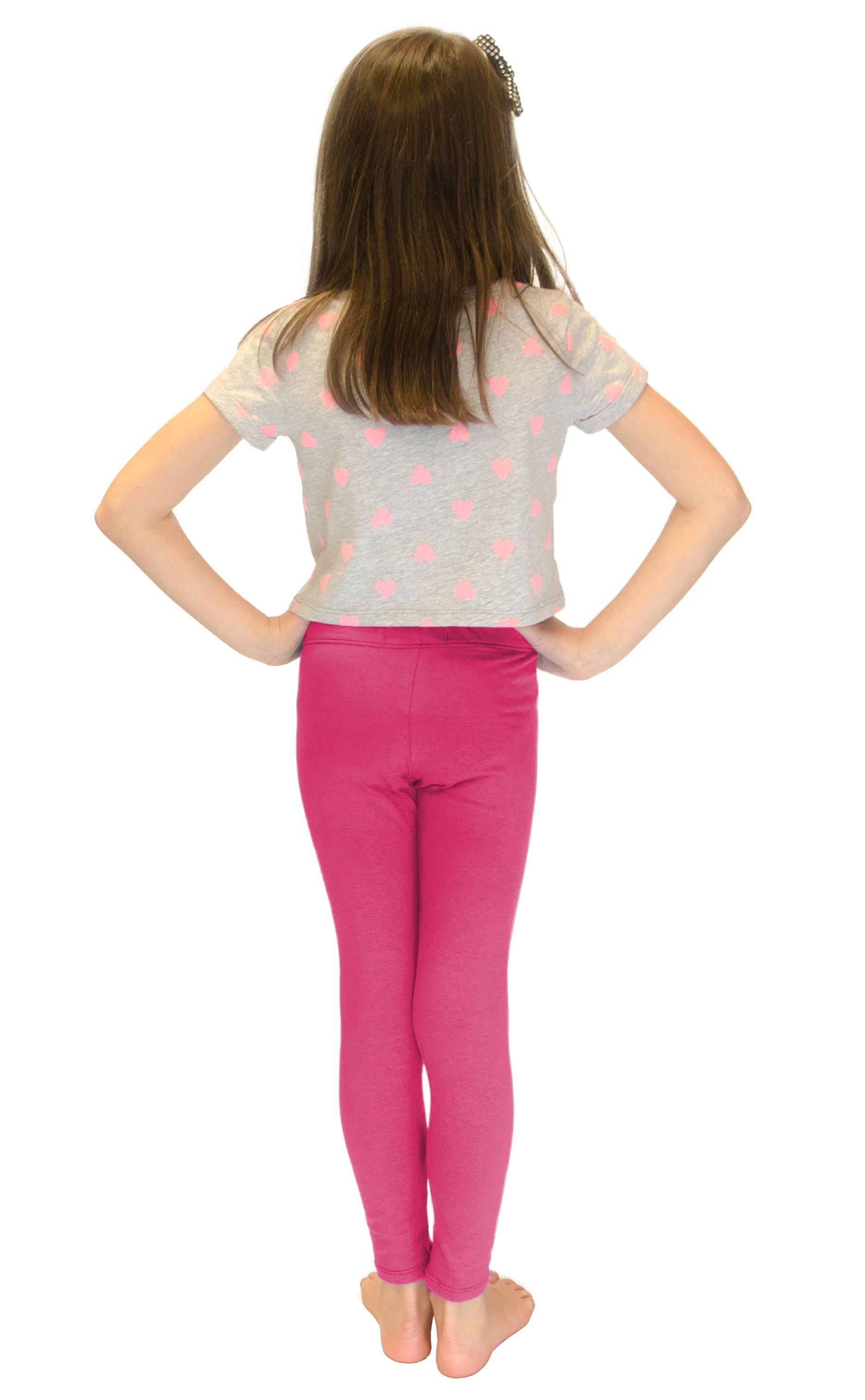 Vivian-039-s-Fashions-Long-Leggings-Girls-Cotton thumbnail 35