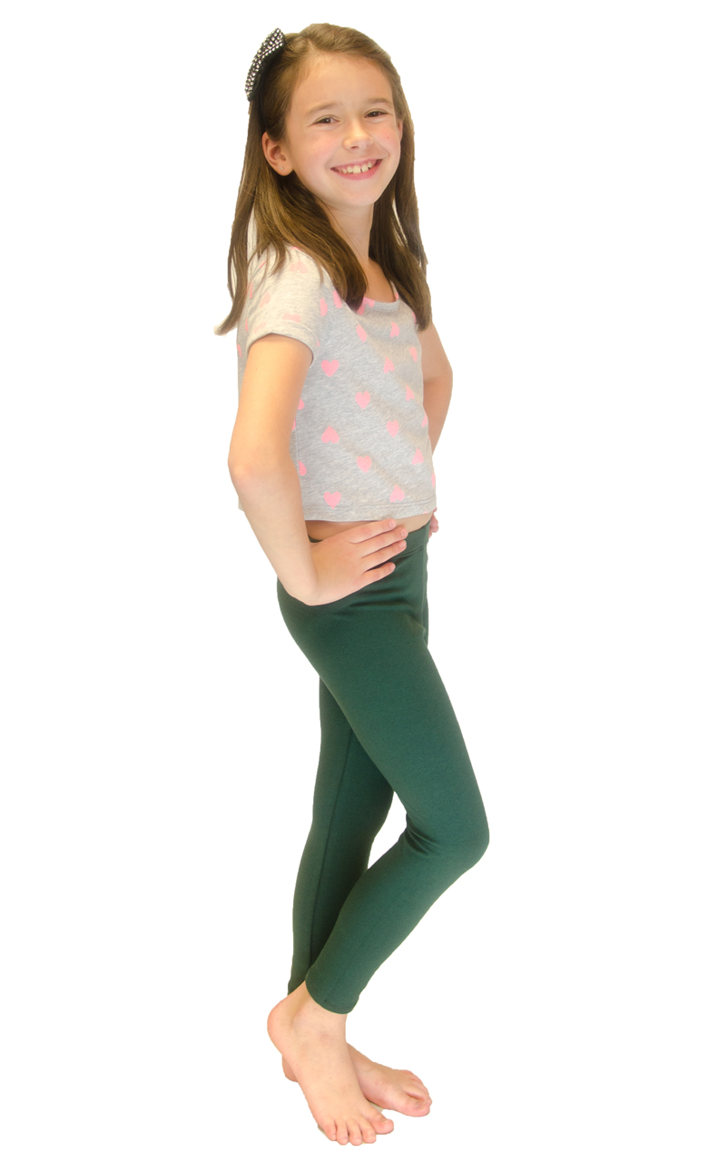 Vivian-039-s-Fashions-Long-Leggings-Girls-Cotton thumbnail 37