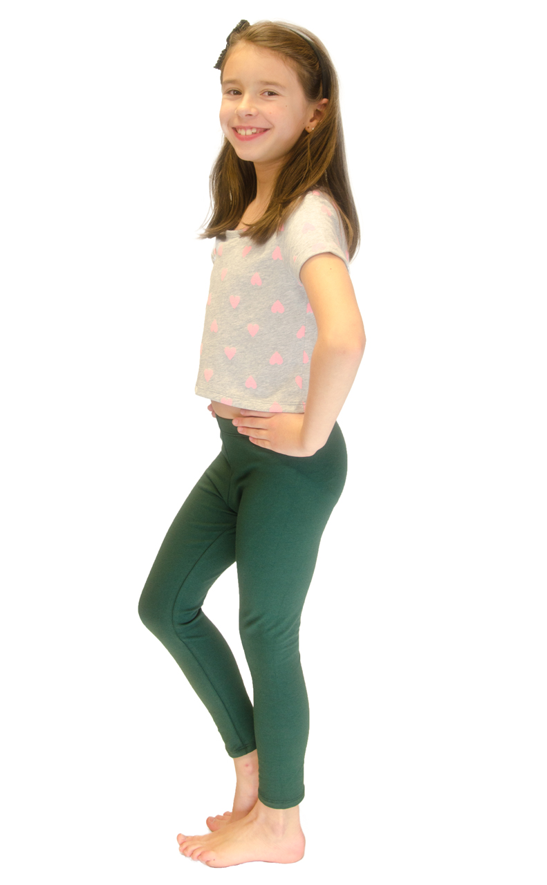 Vivian-039-s-Fashions-Long-Leggings-Girls-Cotton thumbnail 38