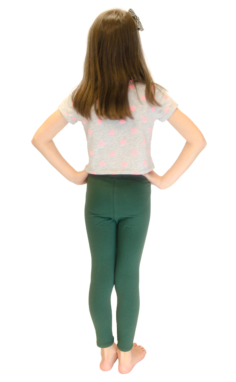 Vivian-039-s-Fashions-Long-Leggings-Girls-Cotton thumbnail 39