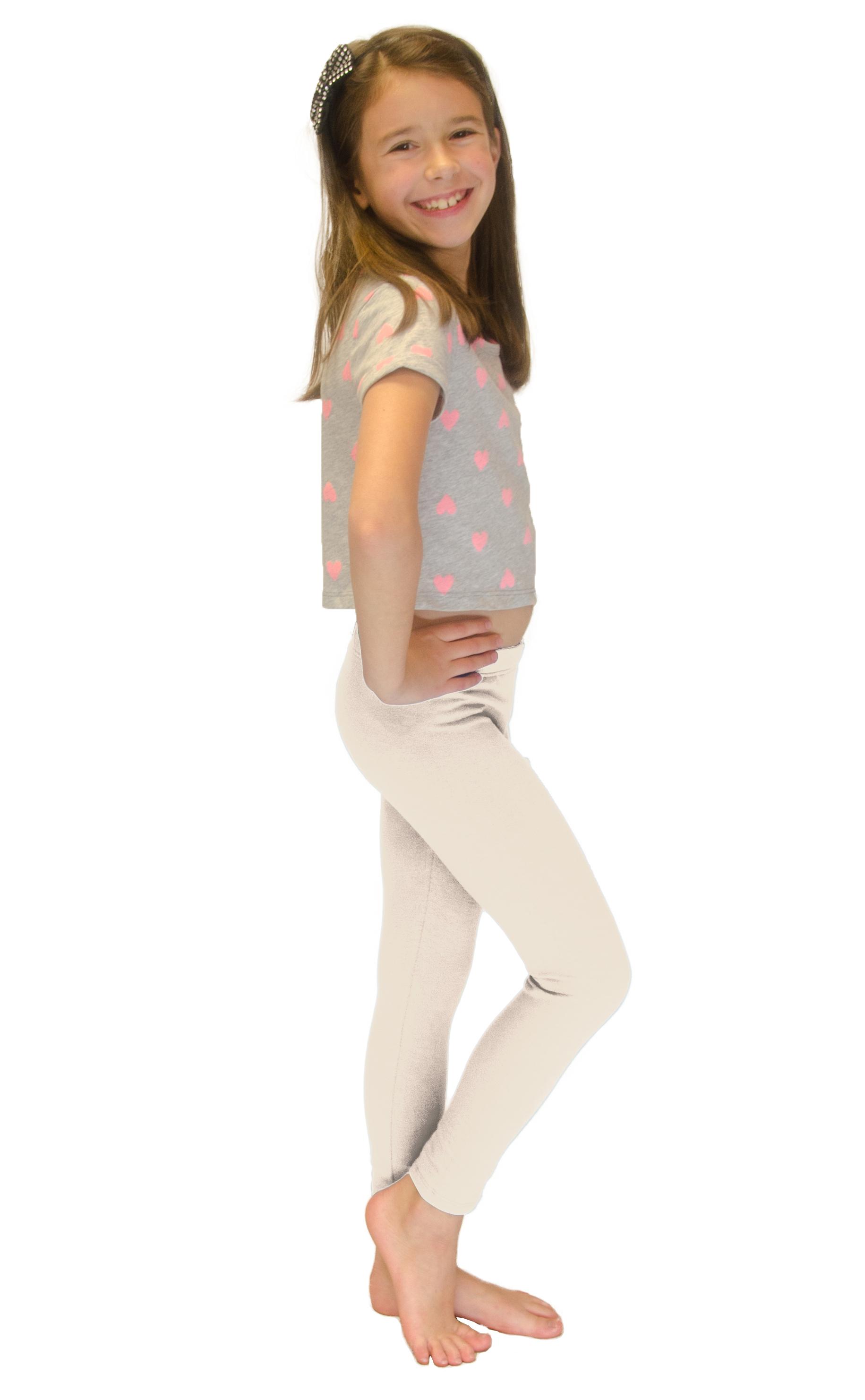 Vivian-039-s-Fashions-Long-Leggings-Girls-Cotton thumbnail 43