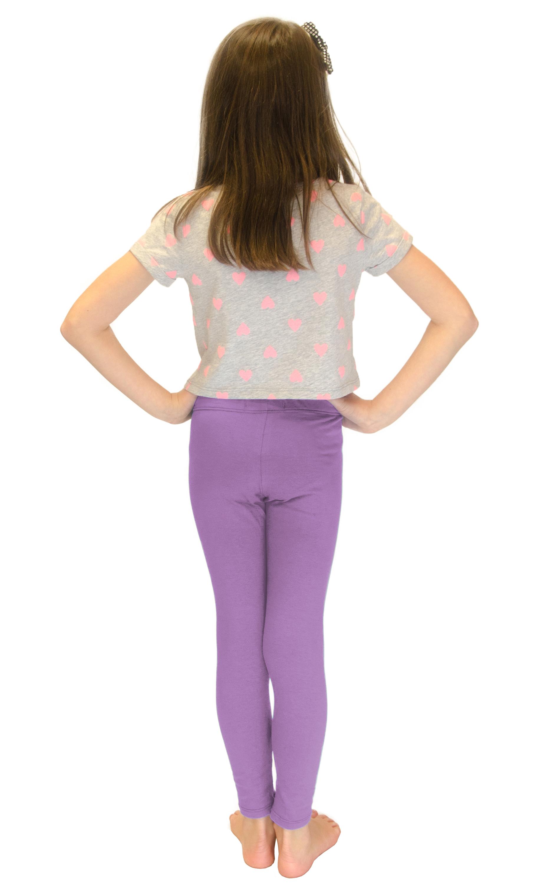 Vivian-039-s-Fashions-Long-Leggings-Girls-Cotton thumbnail 48