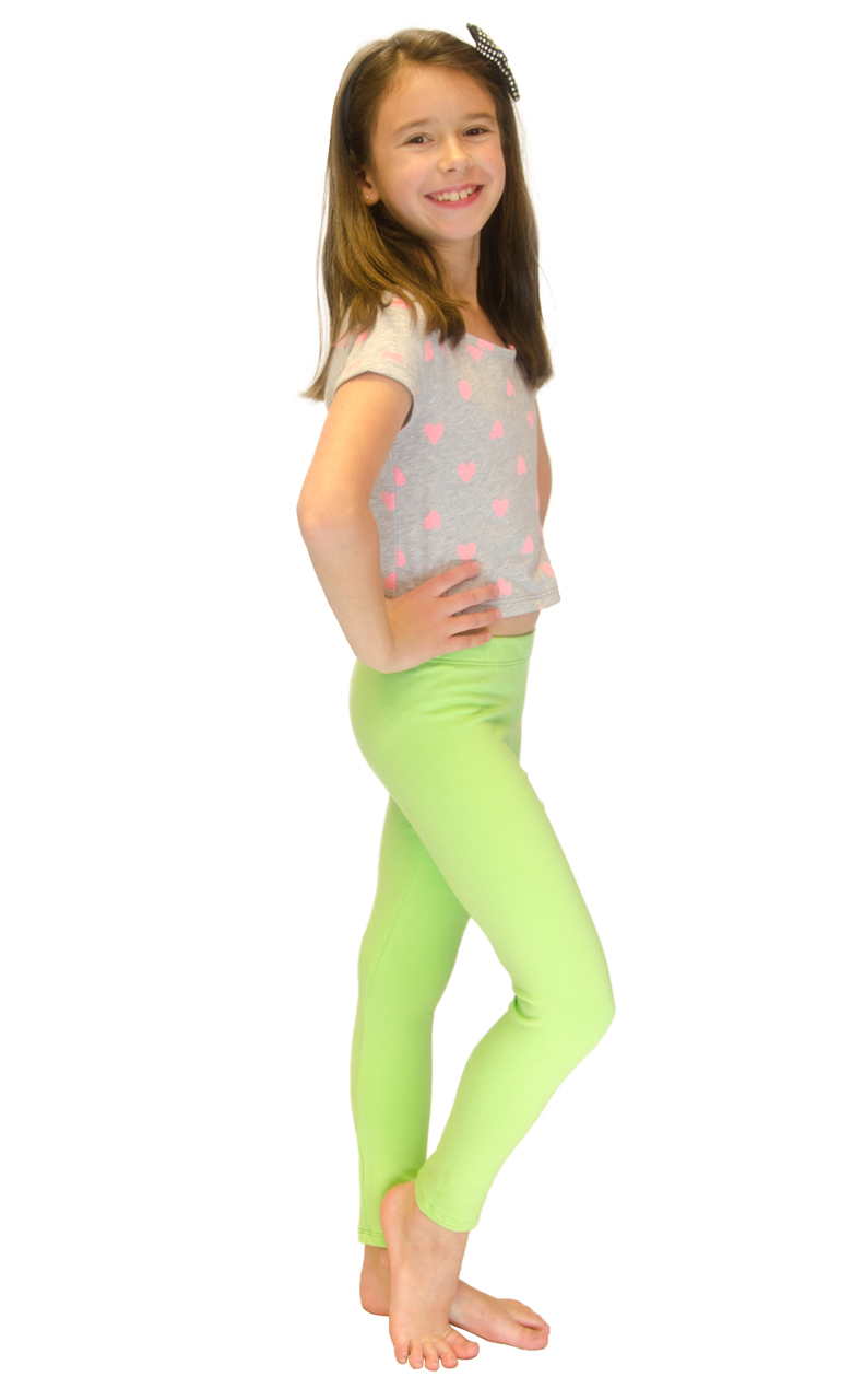 Vivian-039-s-Fashions-Long-Leggings-Girls-Cotton thumbnail 50