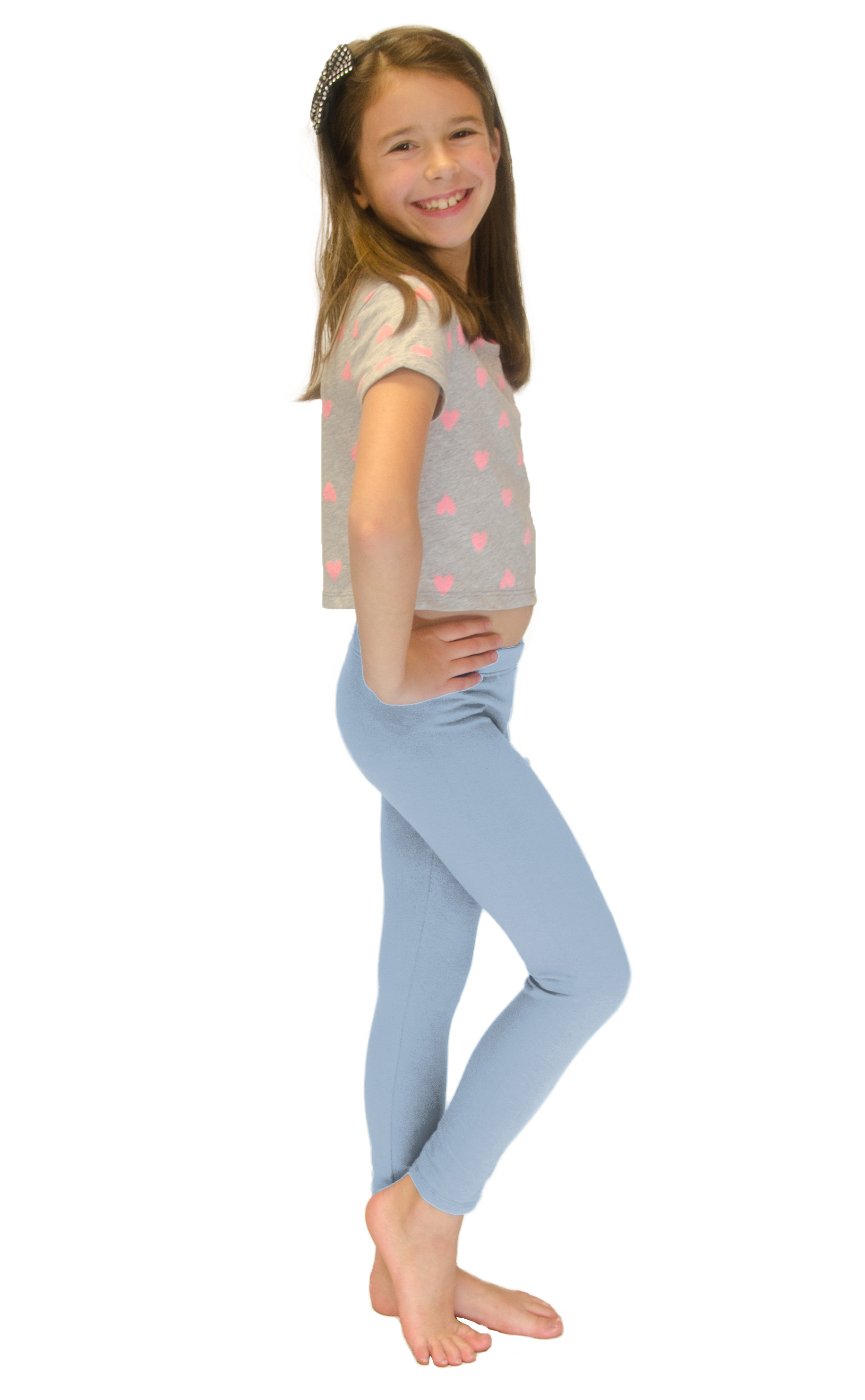 Vivian-039-s-Fashions-Long-Leggings-Girls-Cotton thumbnail 53