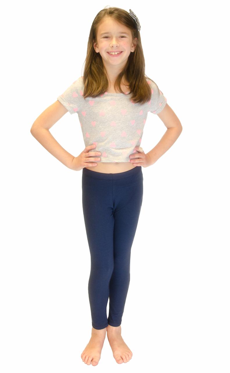 Vivian-039-s-Fashions-Long-Leggings-Girls-Cotton thumbnail 60