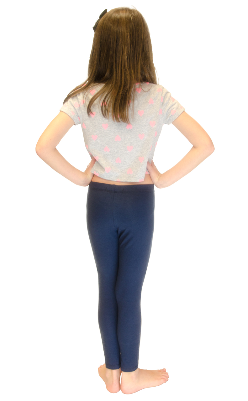 Vivian-039-s-Fashions-Long-Leggings-Girls-Cotton thumbnail 63