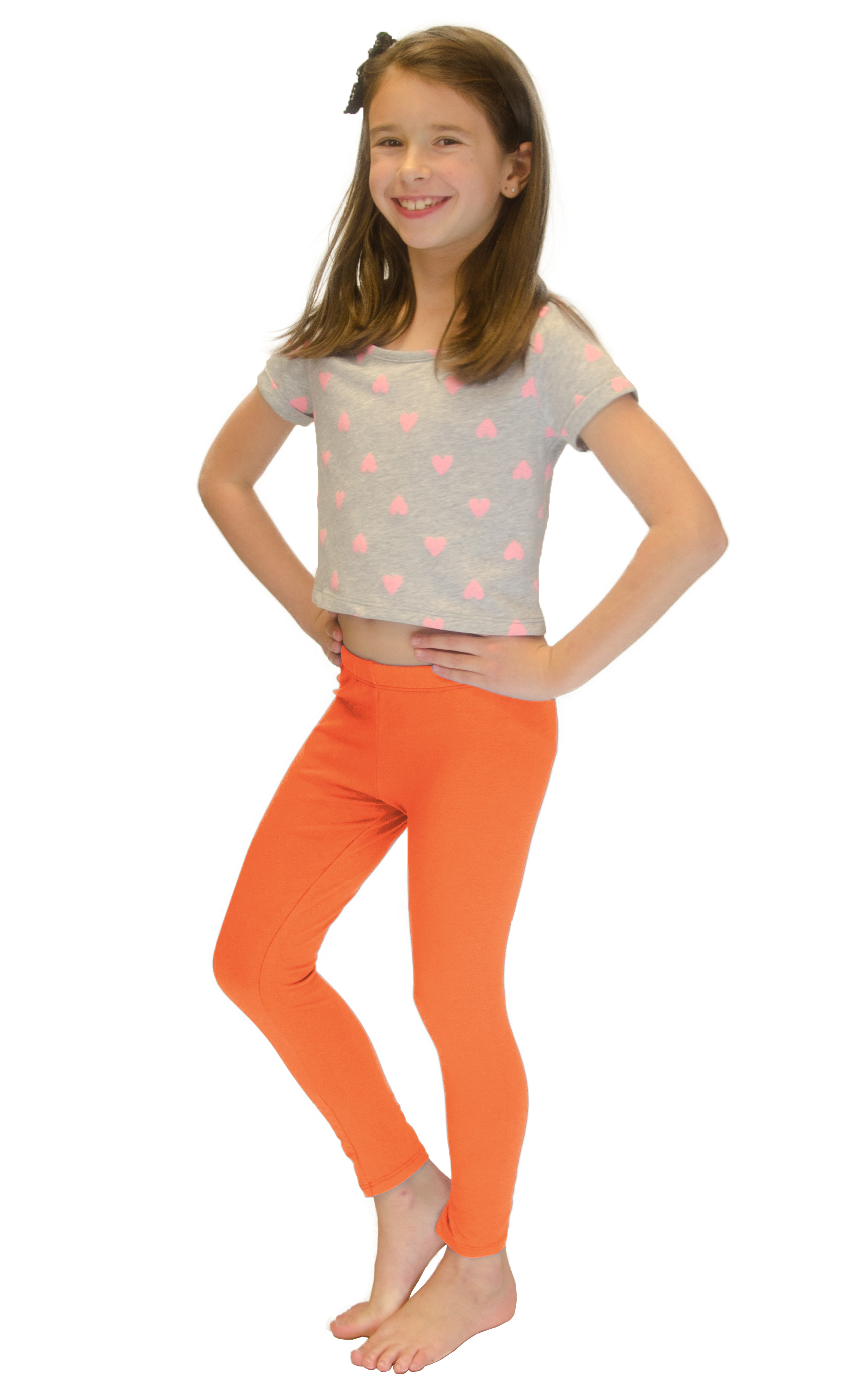 Vivian-039-s-Fashions-Long-Leggings-Girls-Cotton thumbnail 65