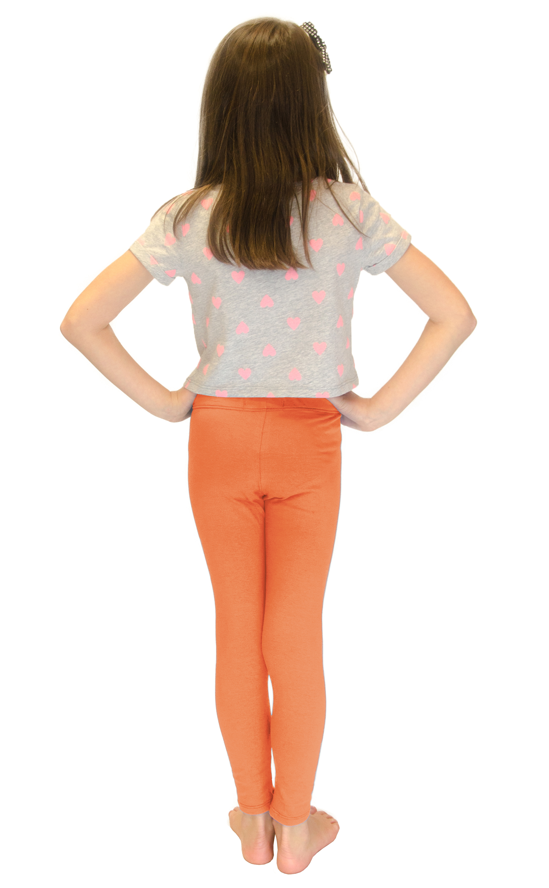 Vivian-039-s-Fashions-Long-Leggings-Girls-Cotton thumbnail 67
