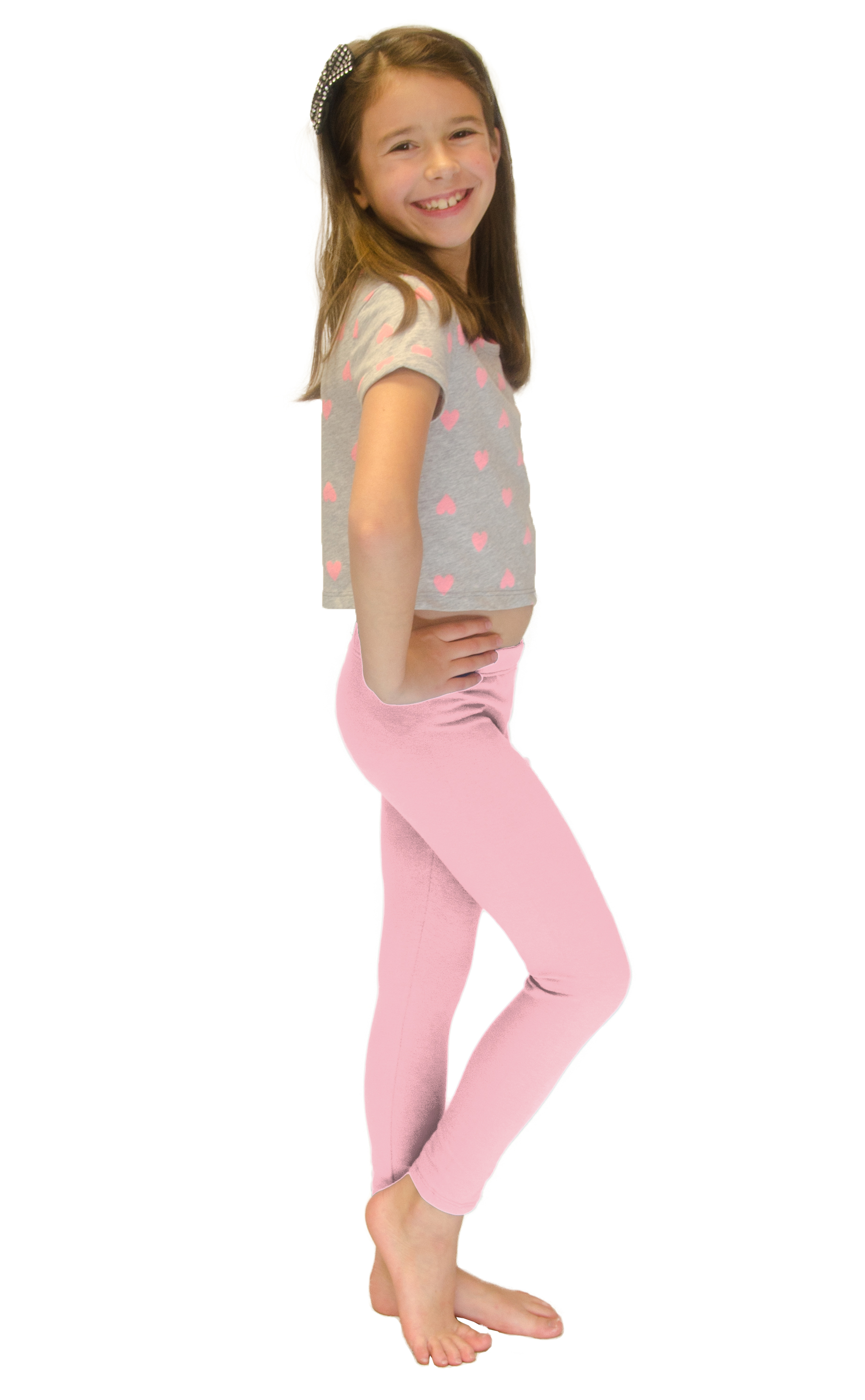 Vivian-039-s-Fashions-Long-Leggings-Girls-Cotton thumbnail 70