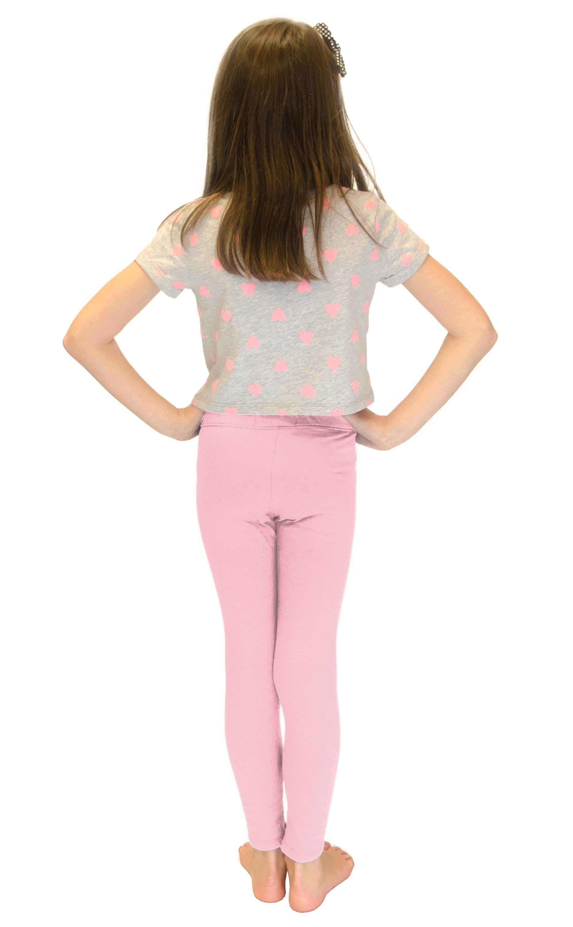 Vivian-039-s-Fashions-Long-Leggings-Girls-Cotton thumbnail 71