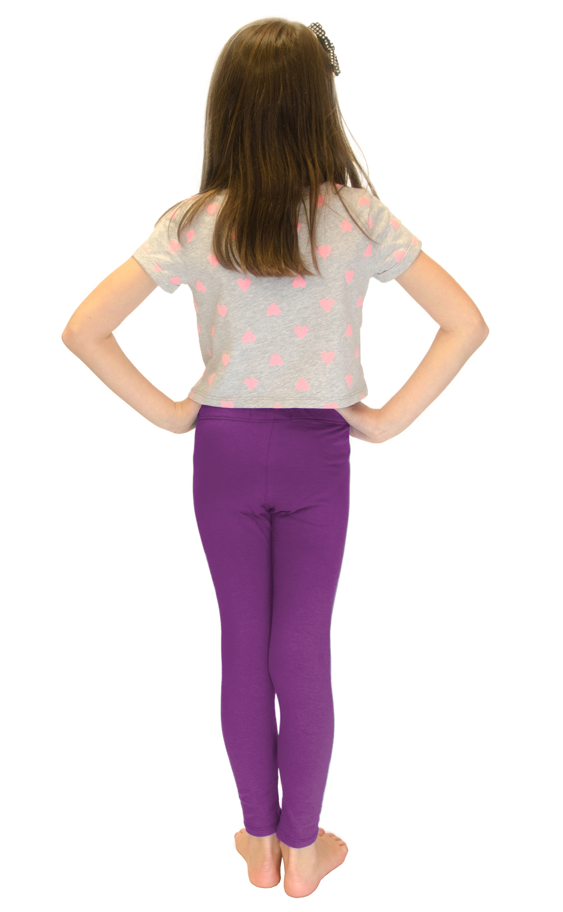 Vivian-039-s-Fashions-Long-Leggings-Girls-Cotton thumbnail 75