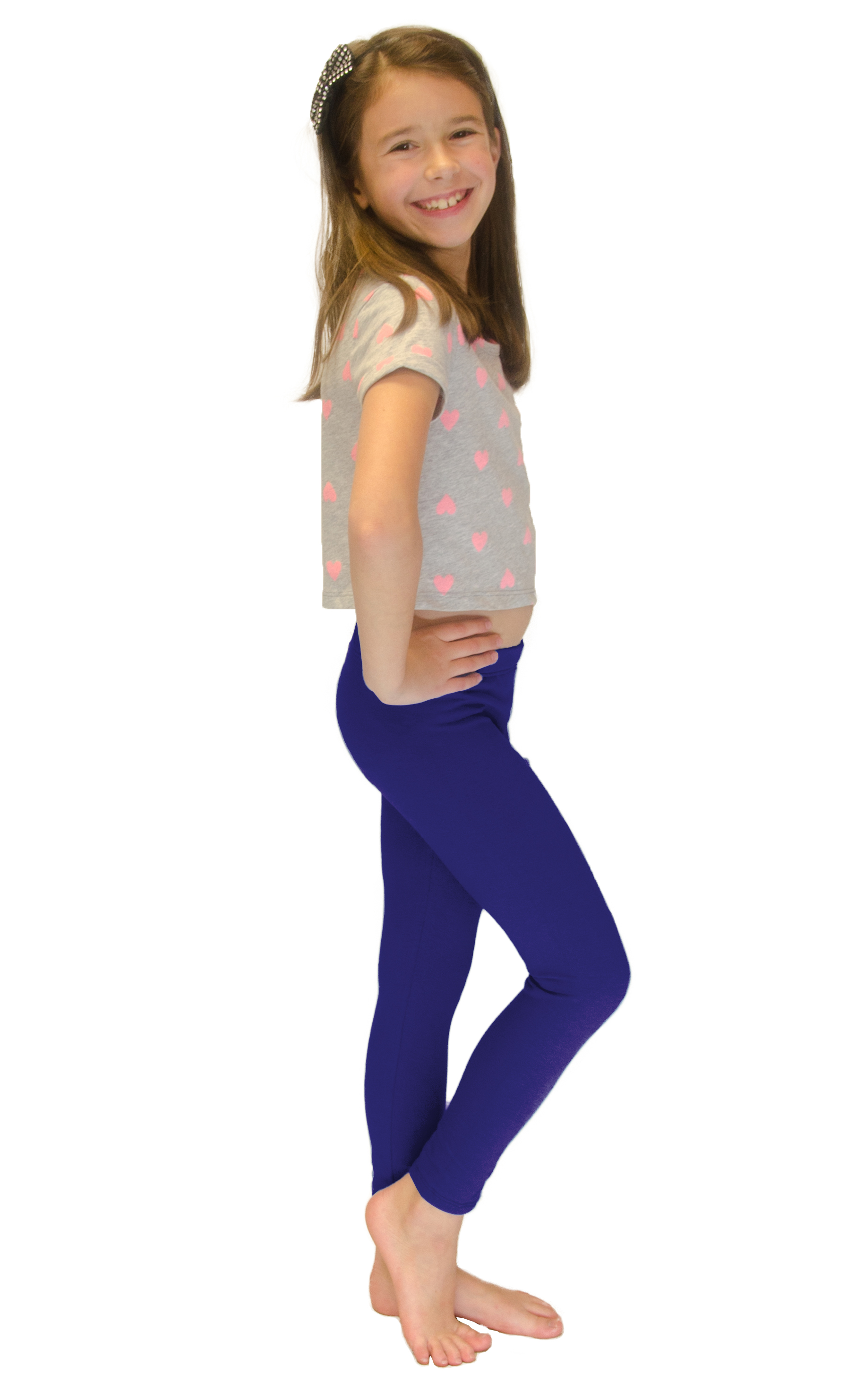Vivian-039-s-Fashions-Long-Leggings-Girls-Cotton thumbnail 82