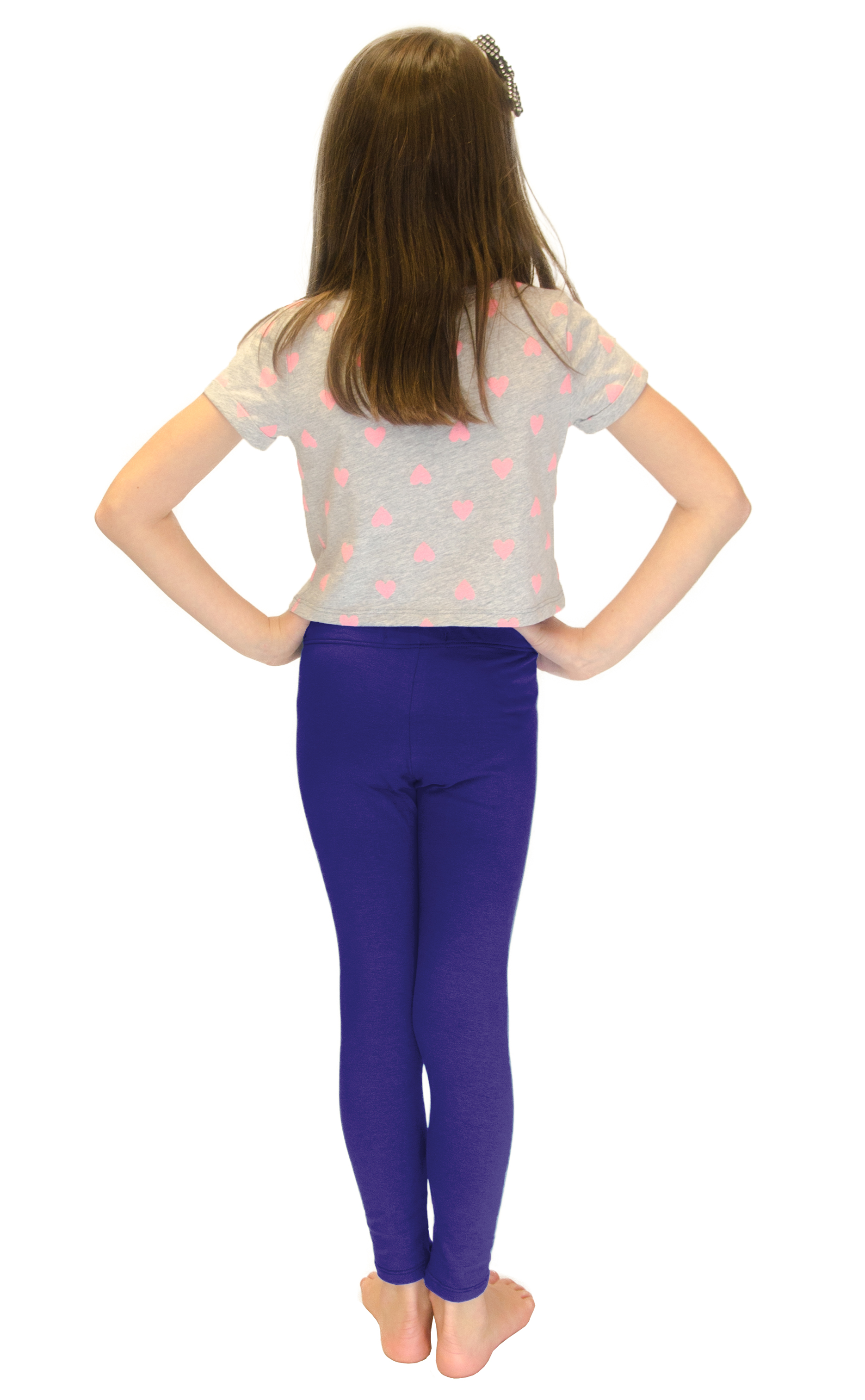 Vivian-039-s-Fashions-Long-Leggings-Girls-Cotton thumbnail 83
