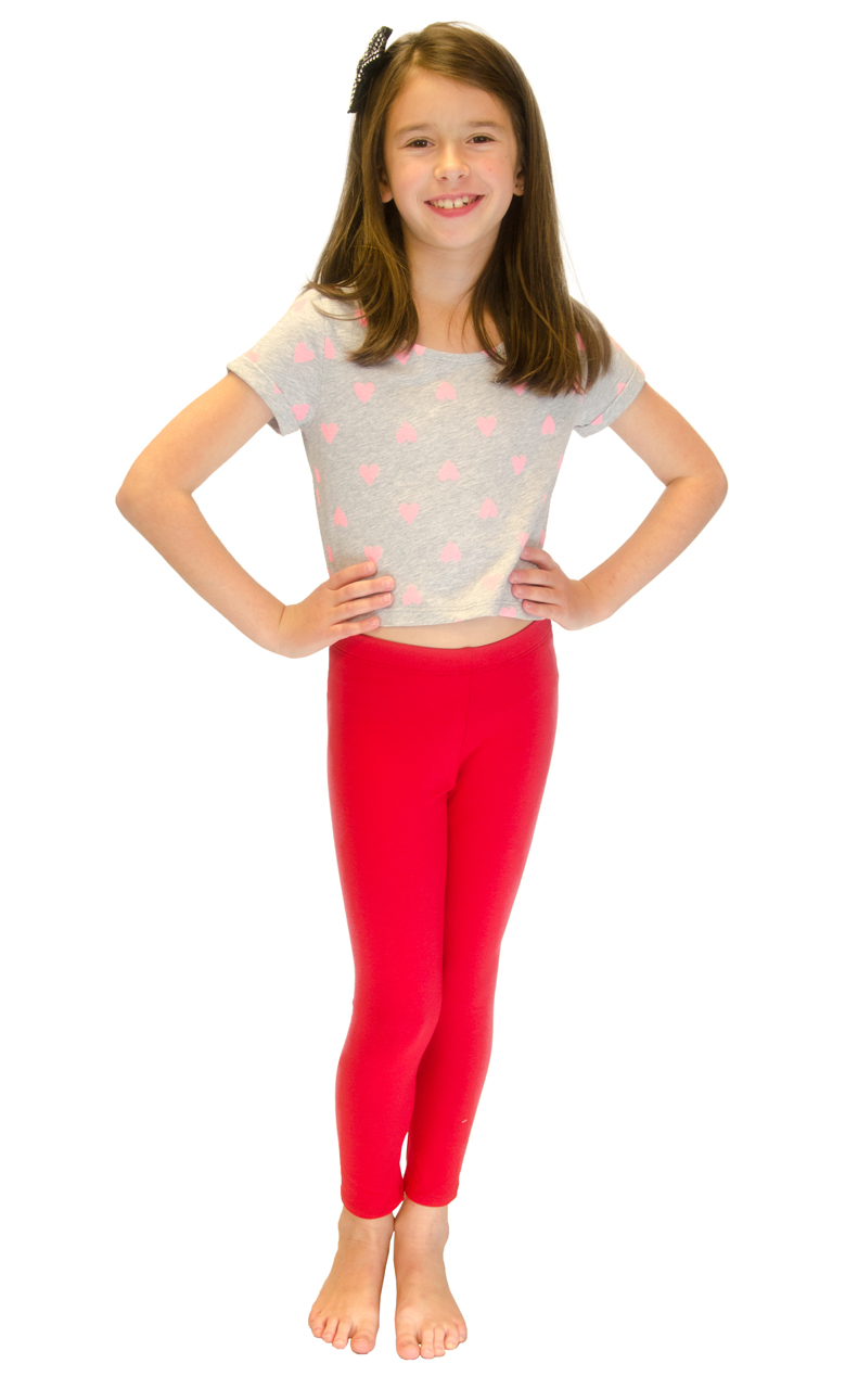Vivian-039-s-Fashions-Long-Leggings-Girls-Cotton thumbnail 77