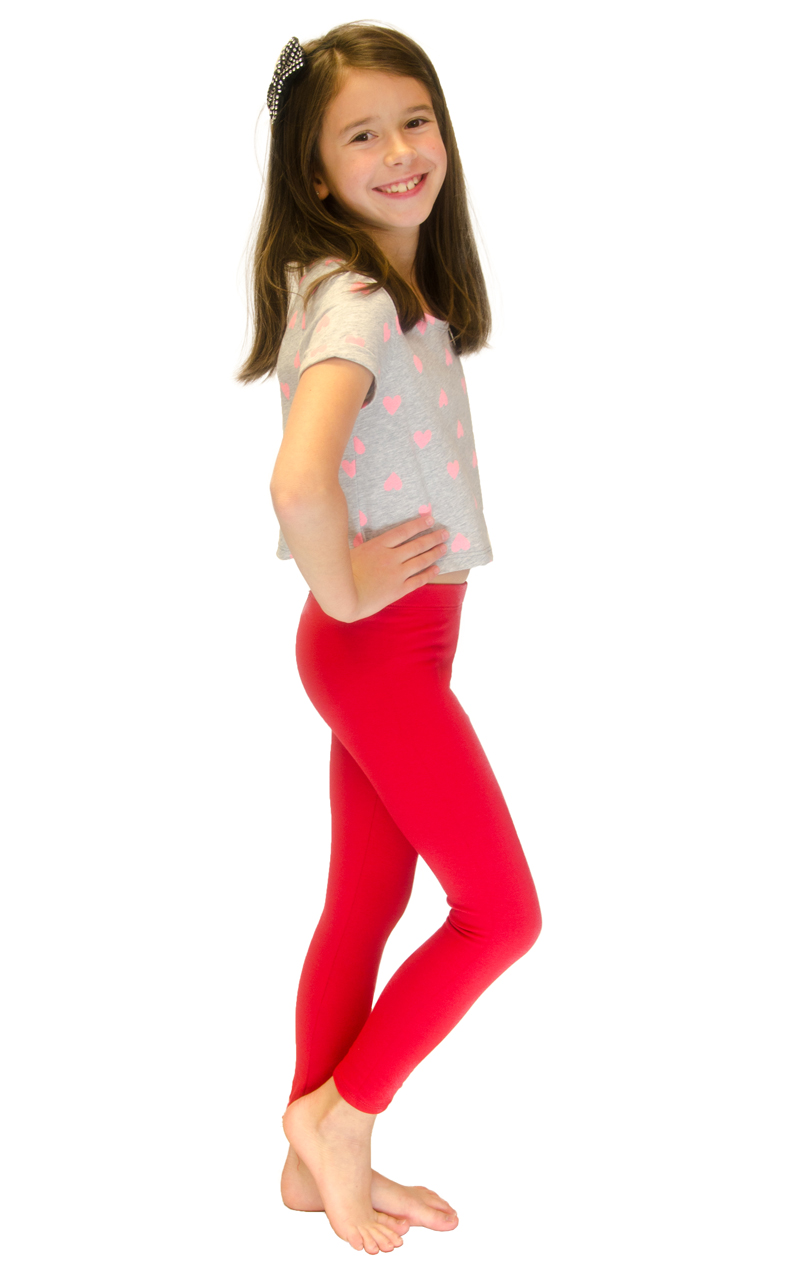 Vivian-039-s-Fashions-Long-Leggings-Girls-Cotton thumbnail 78
