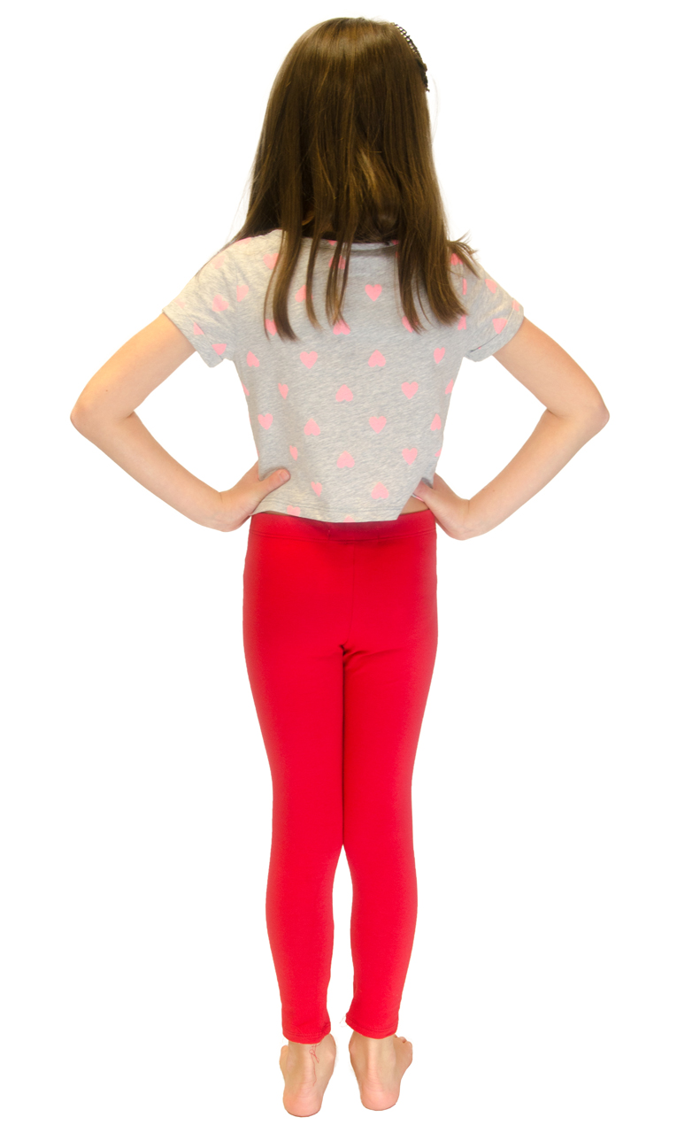 Vivian-039-s-Fashions-Long-Leggings-Girls-Cotton thumbnail 79