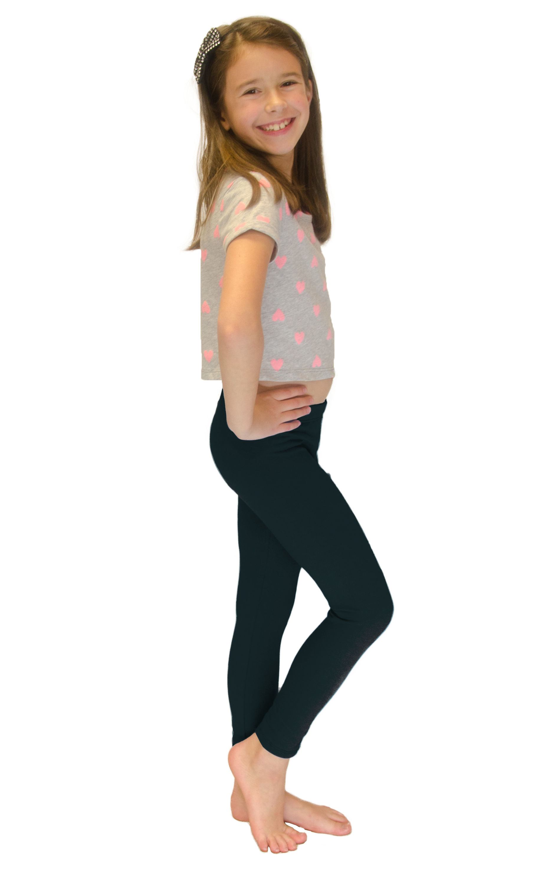 Vivian-039-s-Fashions-Long-Leggings-Girls-Cotton thumbnail 86