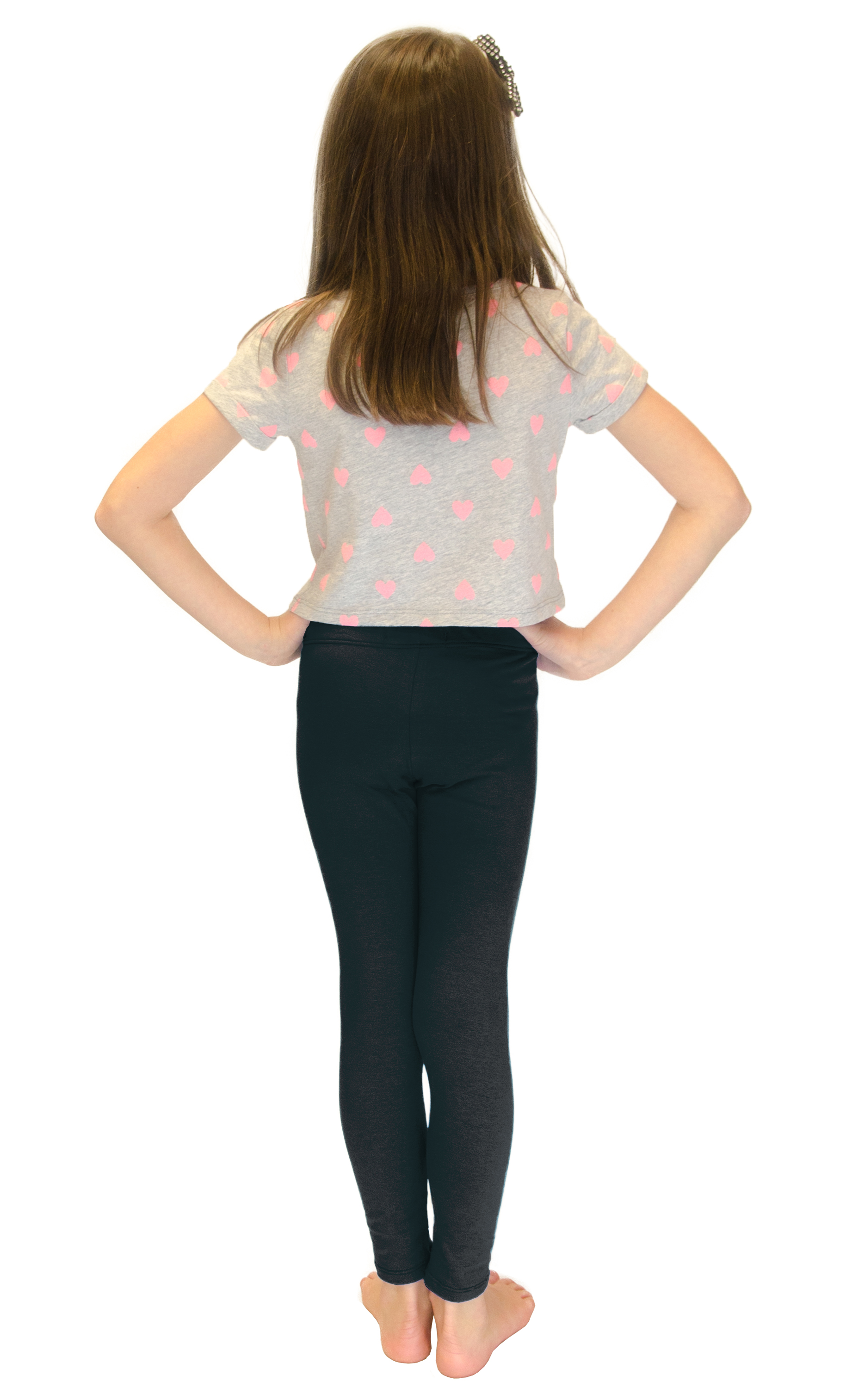 Vivian-039-s-Fashions-Long-Leggings-Girls-Cotton thumbnail 87