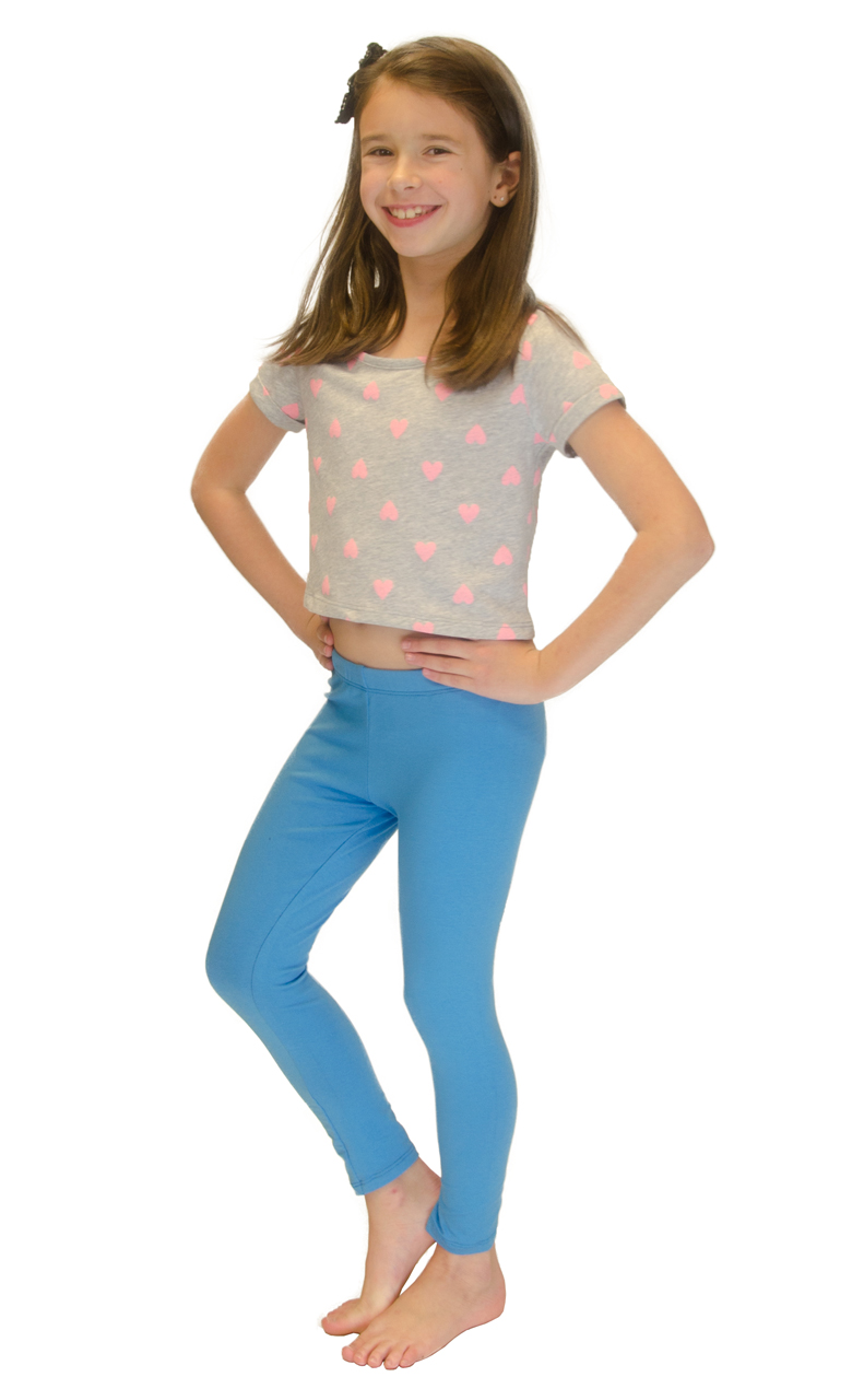 Vivian-039-s-Fashions-Long-Leggings-Girls-Cotton thumbnail 89