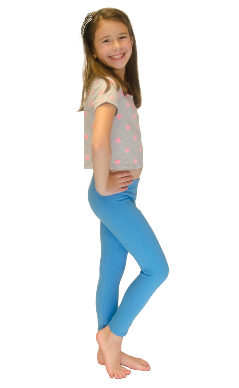 Vivian-039-s-Fashions-Long-Leggings-Girls-Cotton thumbnail 90
