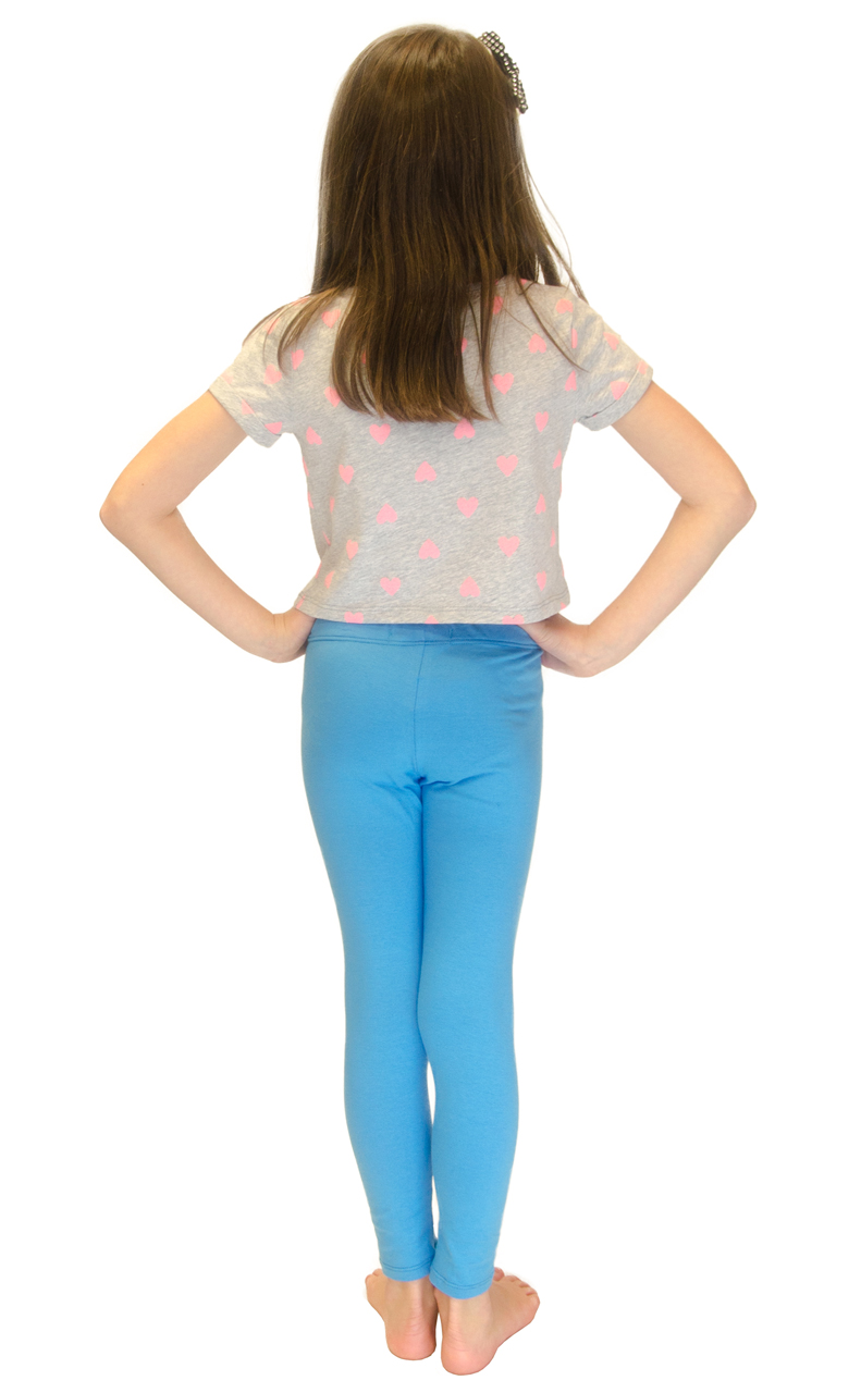 Vivian-039-s-Fashions-Long-Leggings-Girls-Cotton thumbnail 91