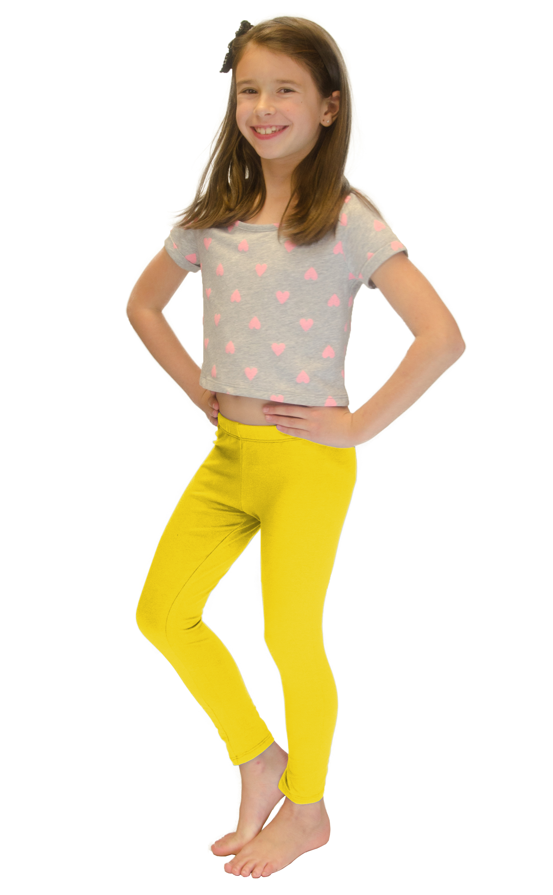 Vivian-039-s-Fashions-Long-Leggings-Girls-Cotton thumbnail 94