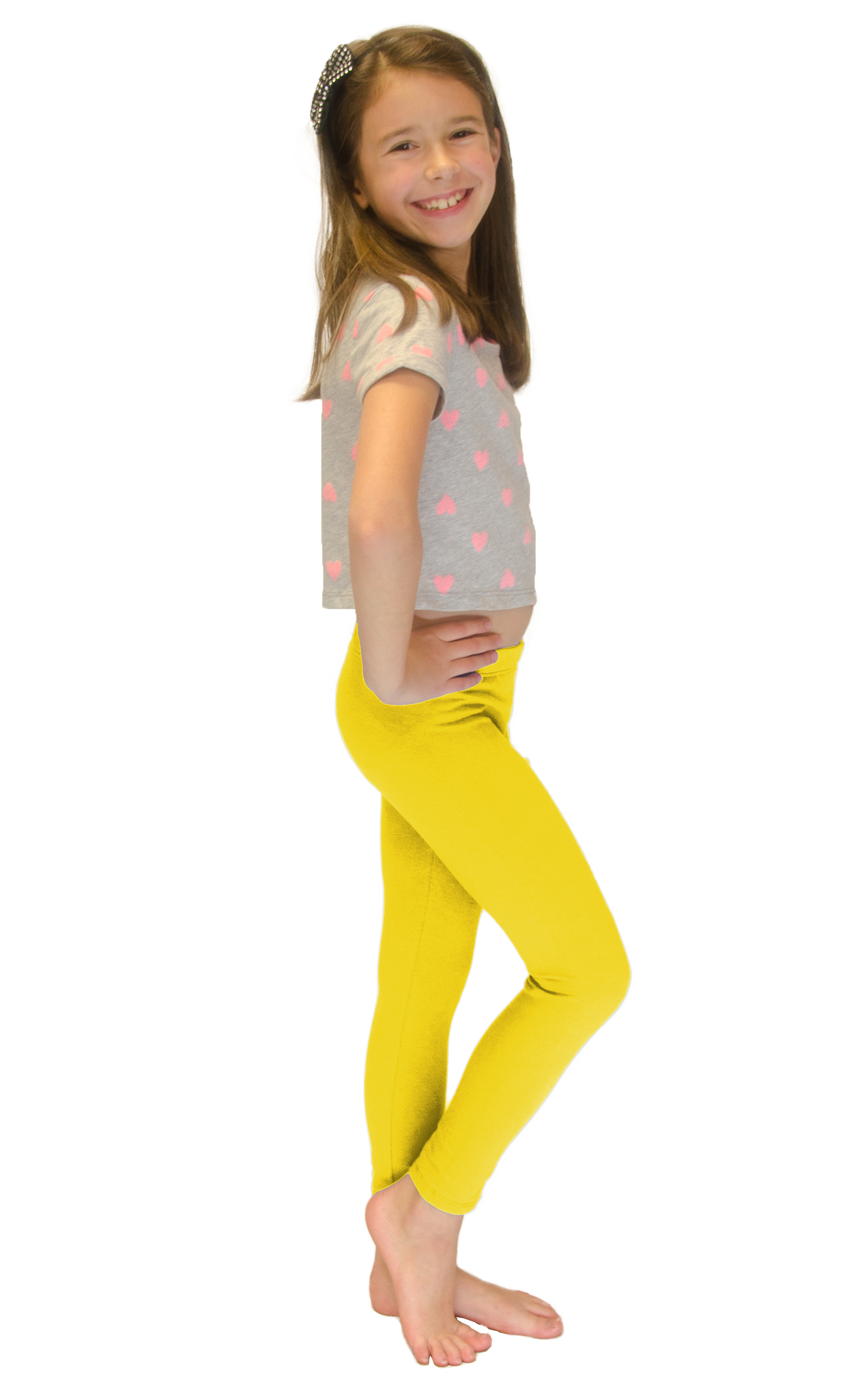Vivian-039-s-Fashions-Long-Leggings-Girls-Cotton thumbnail 95
