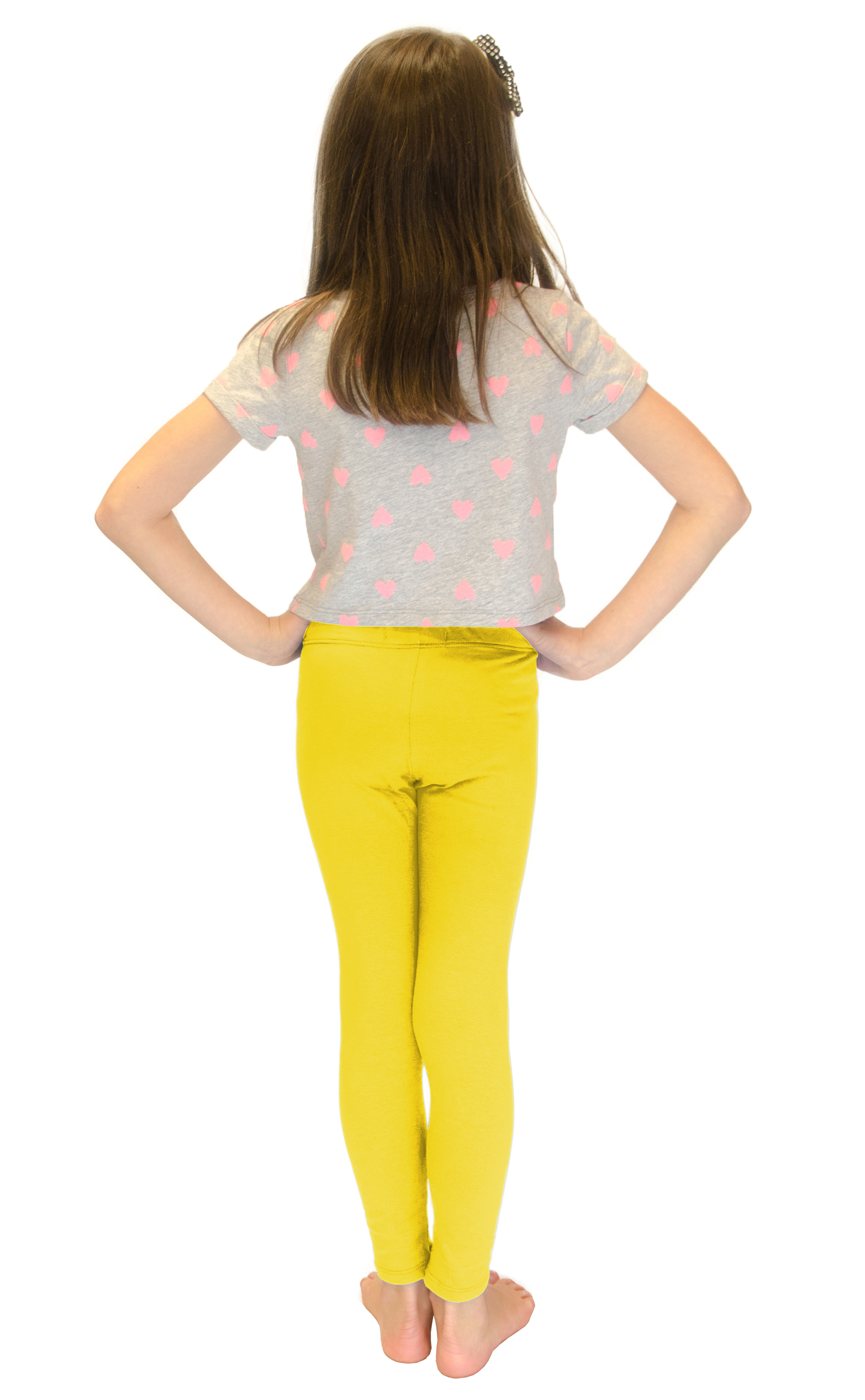 Vivian-039-s-Fashions-Long-Leggings-Girls-Cotton thumbnail 96