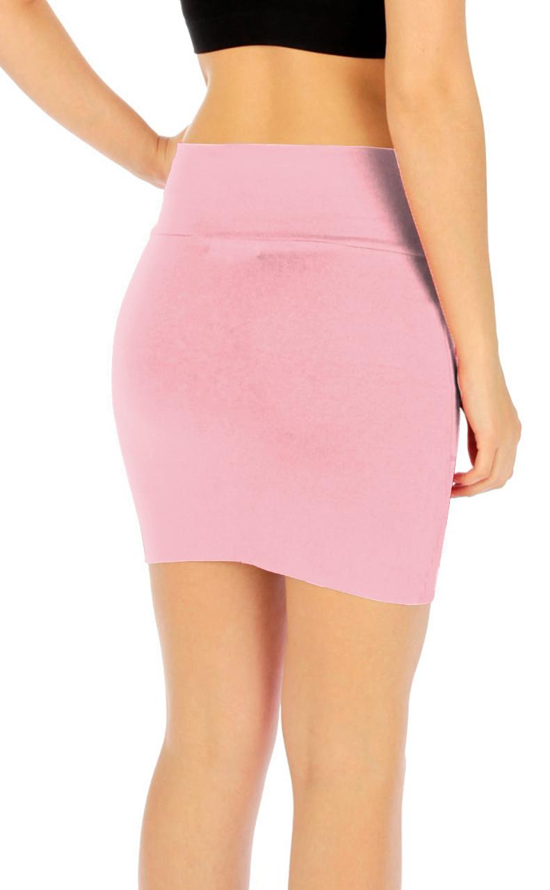 Vivian-039-s-Fashions-Skirt-Cotton-Mini-Skirt-Junior-and-Junior-Plus-Sizes thumbnail 56