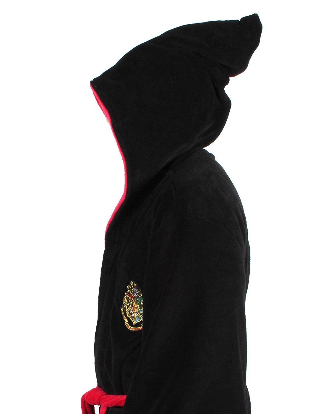 Harry-Potter-ALL-HOUSES-Adult-Fleece-Hooded-Bathrobe-One-Size miniature 9