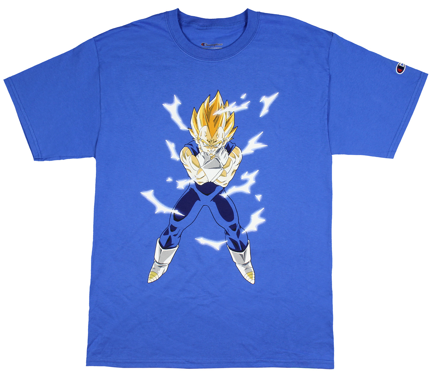 2de4dfa543d Dragon Ball Z Shirt Super Saiyan Goku Men s Champion T-Shirt (Medium)