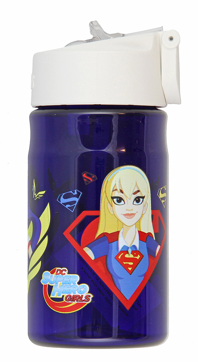 Thermos 12 Ounce Tritan Hydration Bottle, Super Hero Girls