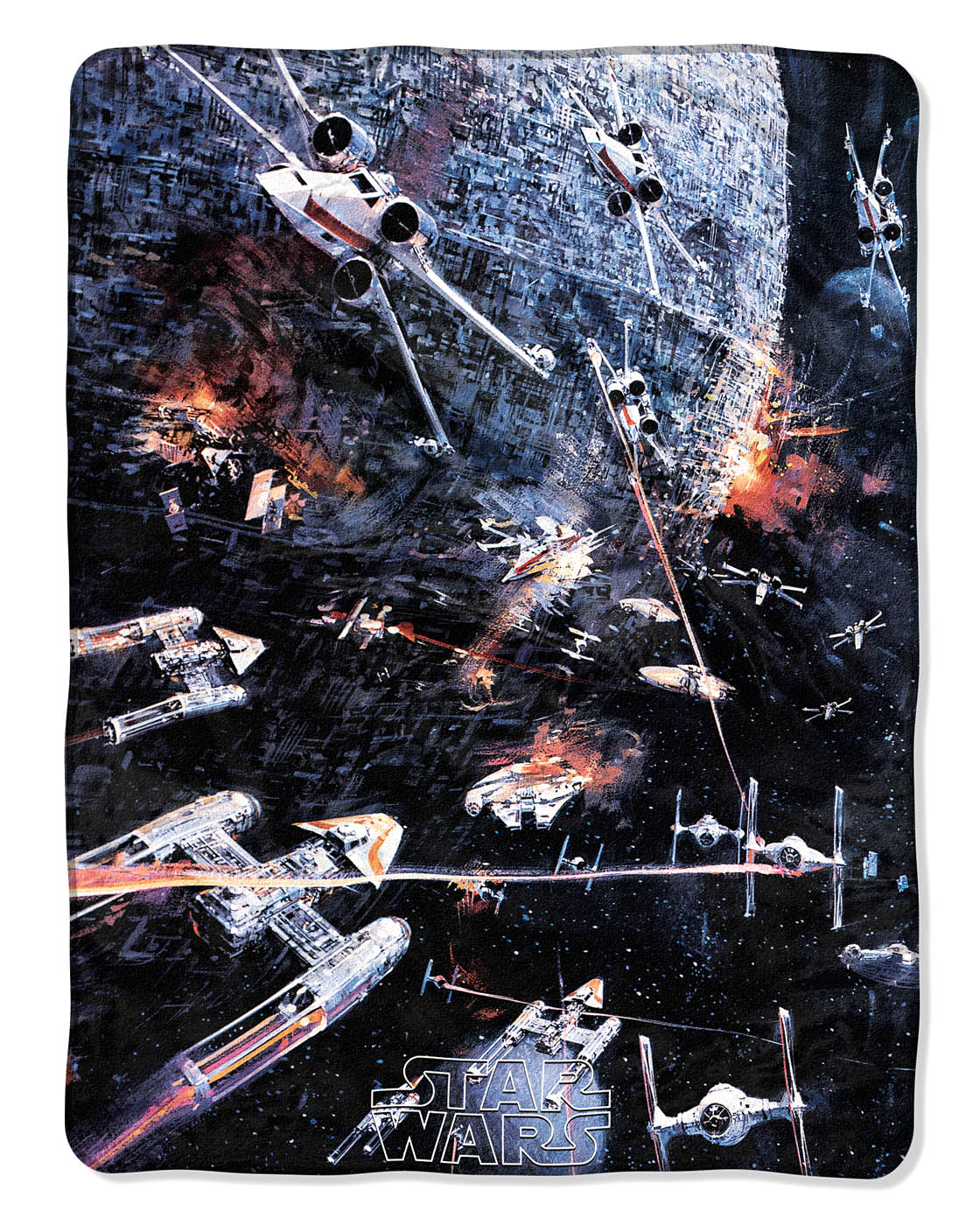 STAR WARS BLANKET FLEECE THROW SOFT NWT LICENSED !!!FREE SHIPPING!!!