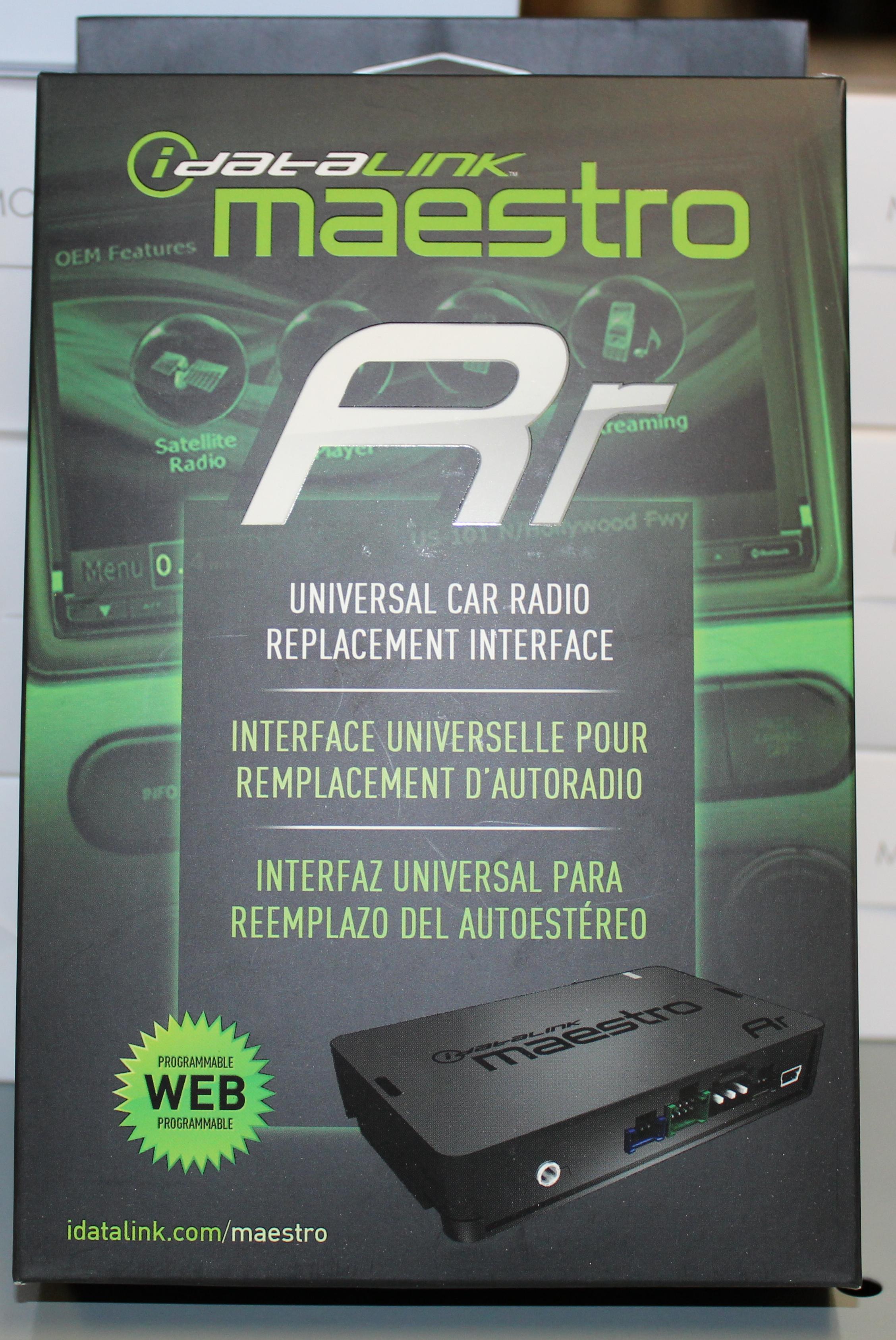 idatalink maestro rr ads mrr radio replacement steering wheel