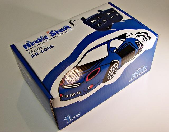 Compustar Artic Start AR600S Keyless Entry Remote Car Start Starter CS600S