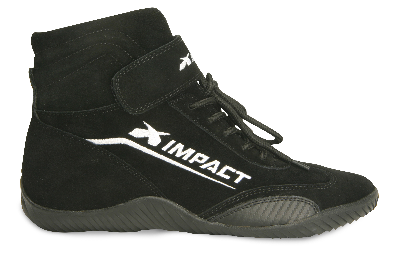 IMPACT RACING Shoe Axis Black 12 SFI3.3//5 P//N 41012010