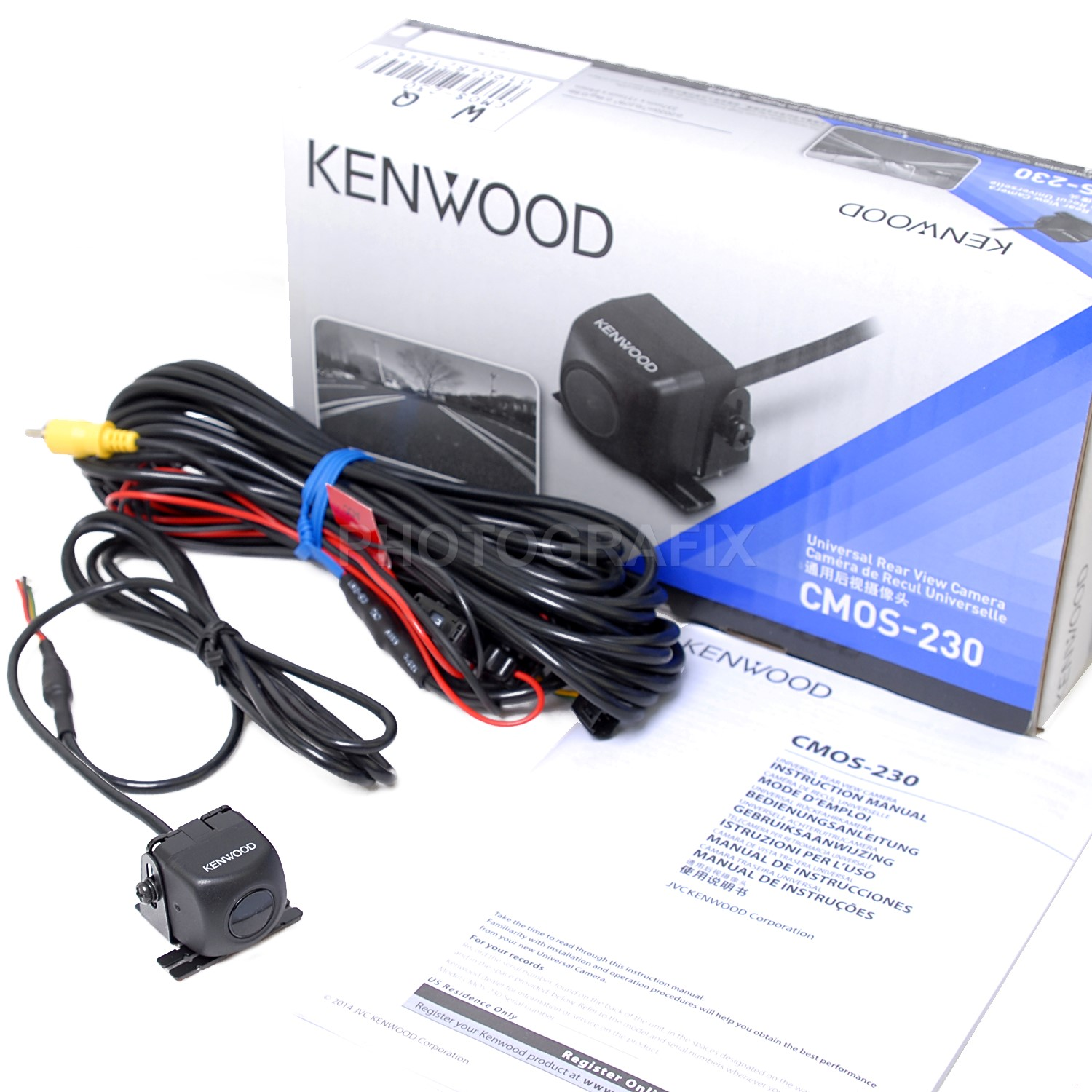 kenwood cmos 230 wide angle rear view backup camera w