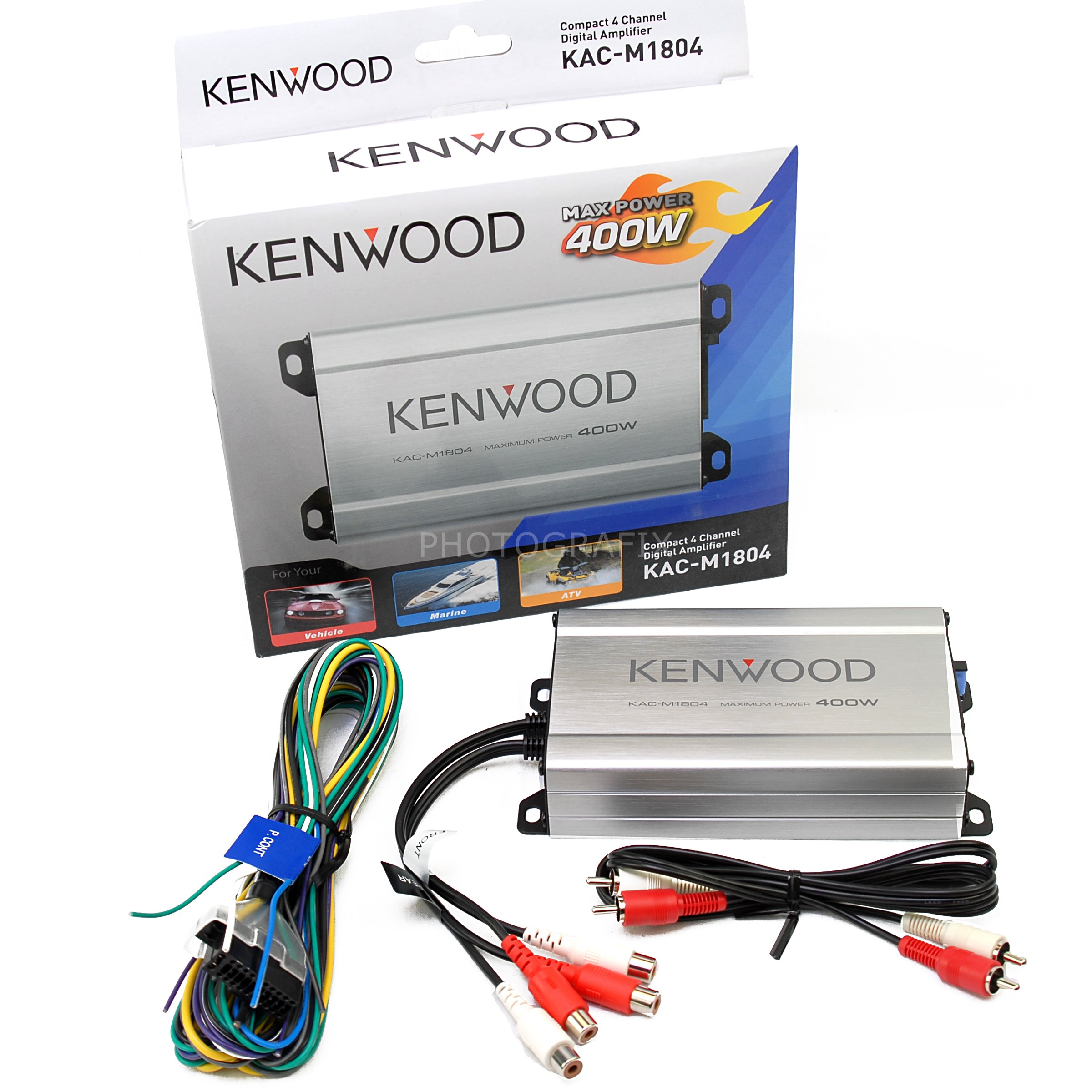 kenkacm1804__itemimageurl1 kenwood kac m1804 compact 4 channel digital car boat or motorcycle kenwood kac m3004 wiring diagram at edmiracle.co
